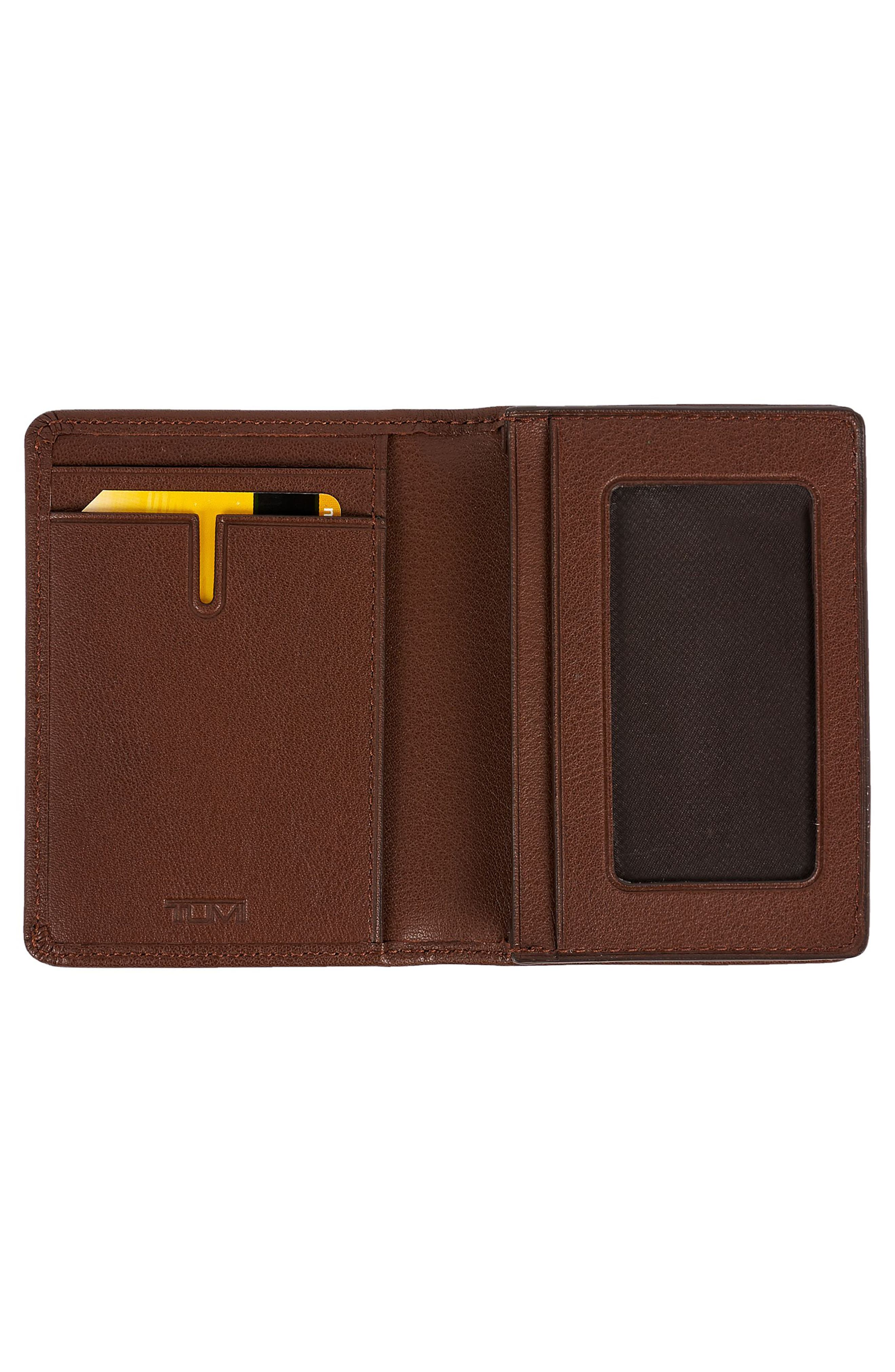 Leather RFID Card Case,                             Alternate thumbnail 5, color,