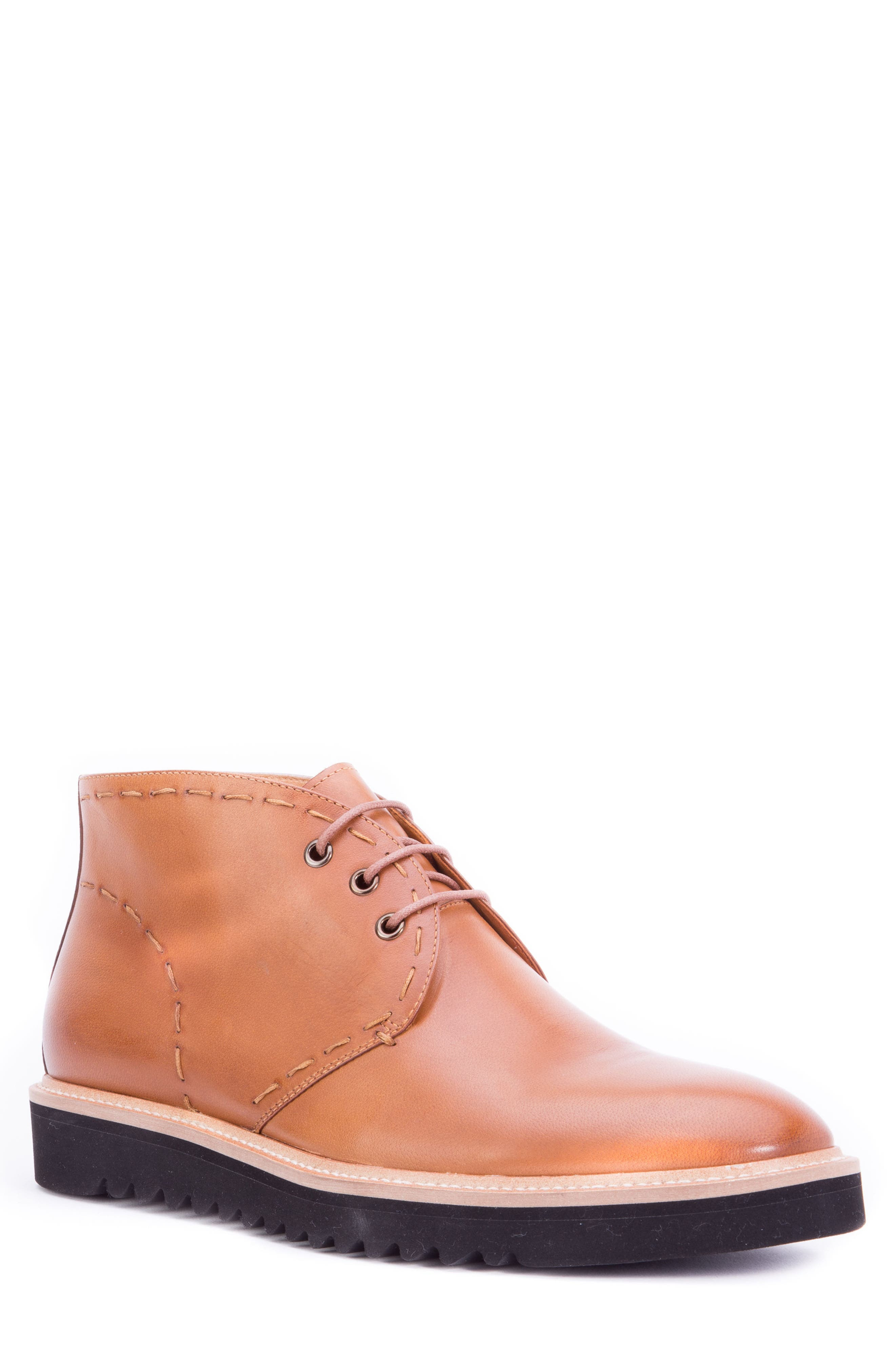 Lombardo Chukka Boot,                             Main thumbnail 1, color,                             COGNAC LEATHER