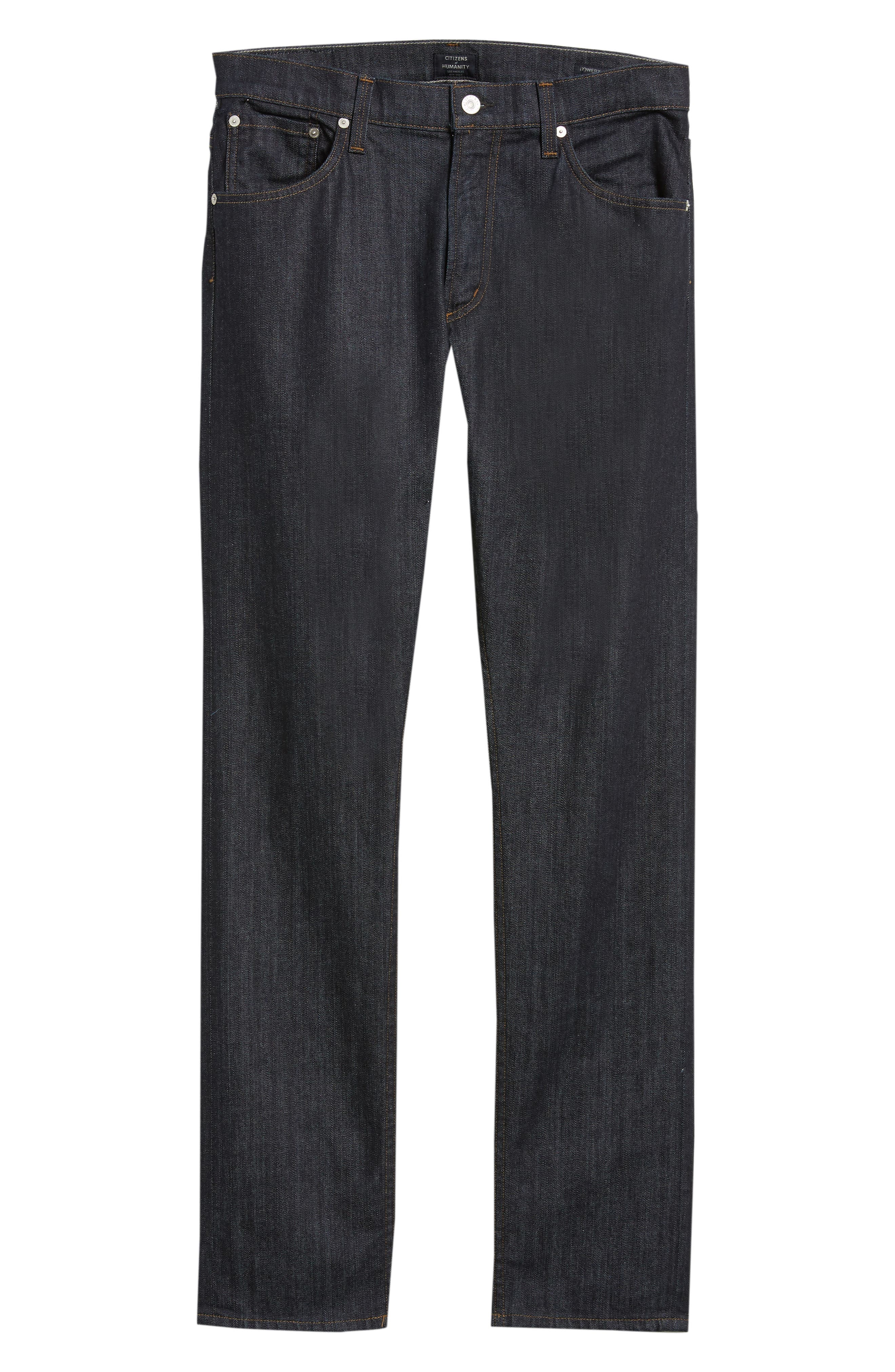 Bowery Slim Fit Jeans,                             Alternate thumbnail 6, color,                             SUPERIOR