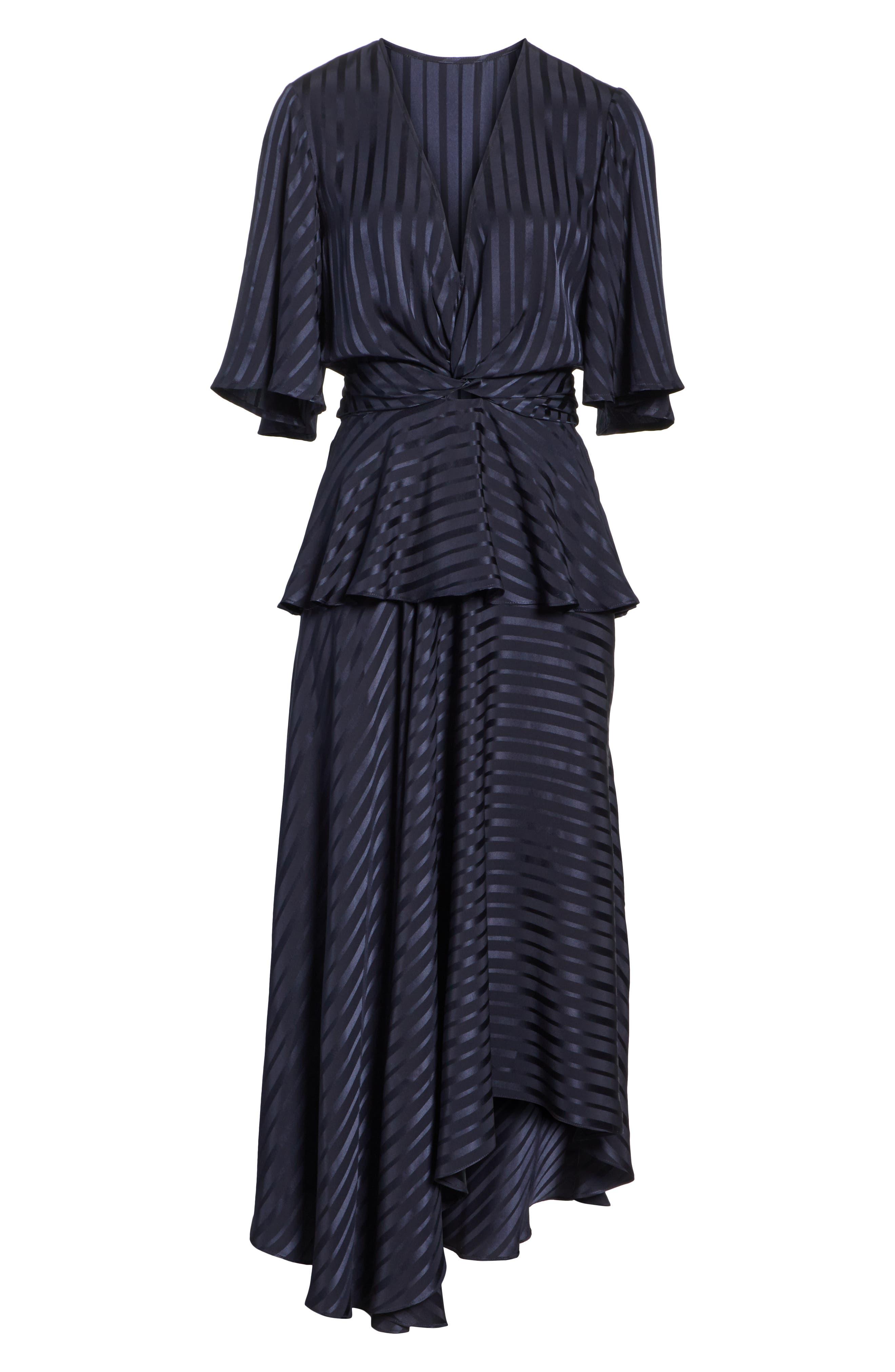 Avi Silk Dress,                             Alternate thumbnail 7, color,                             410