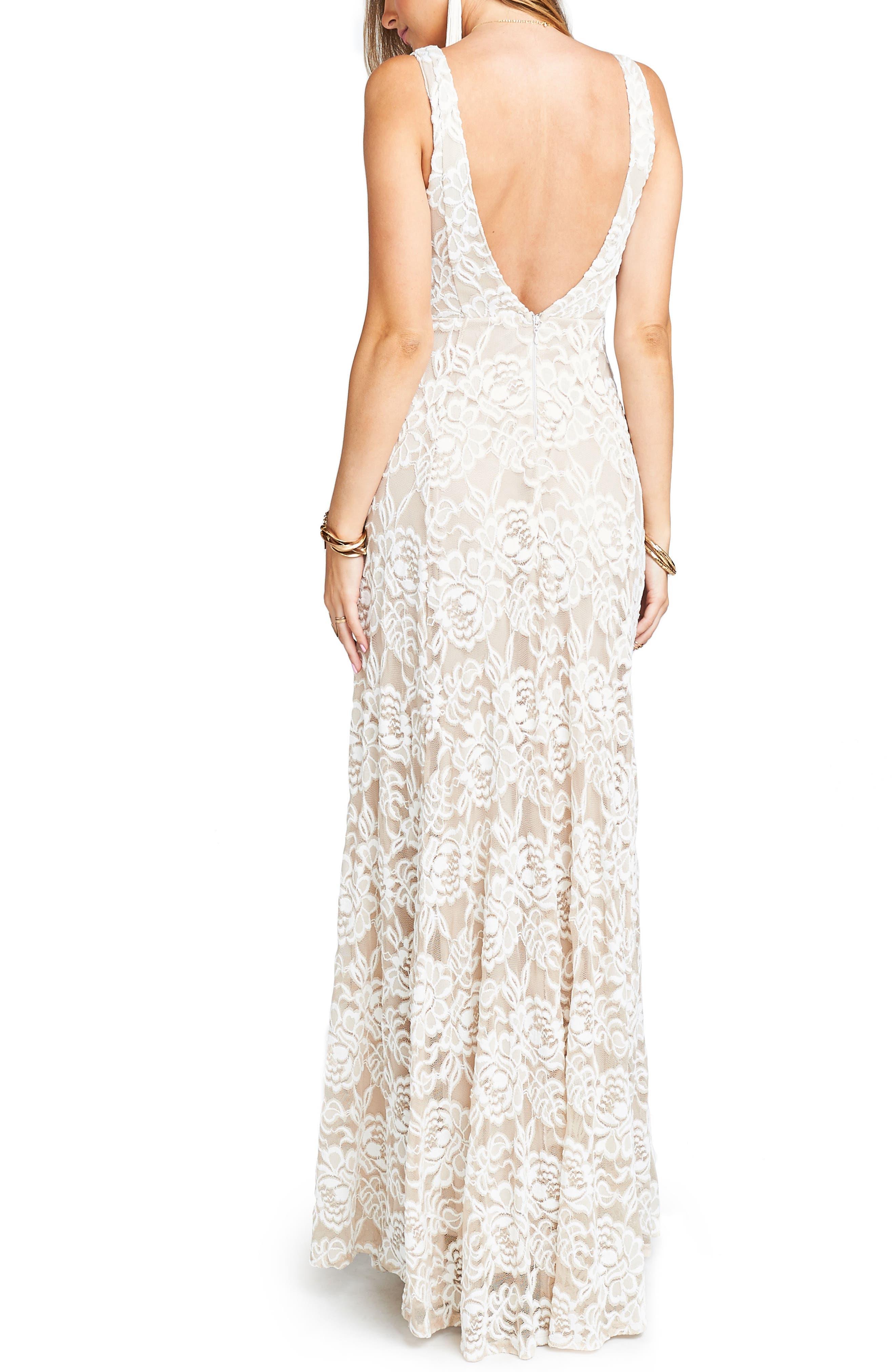 Jen Lace Dress,                             Alternate thumbnail 2, color,                             LOVERS LACE SHOW ME THE RING
