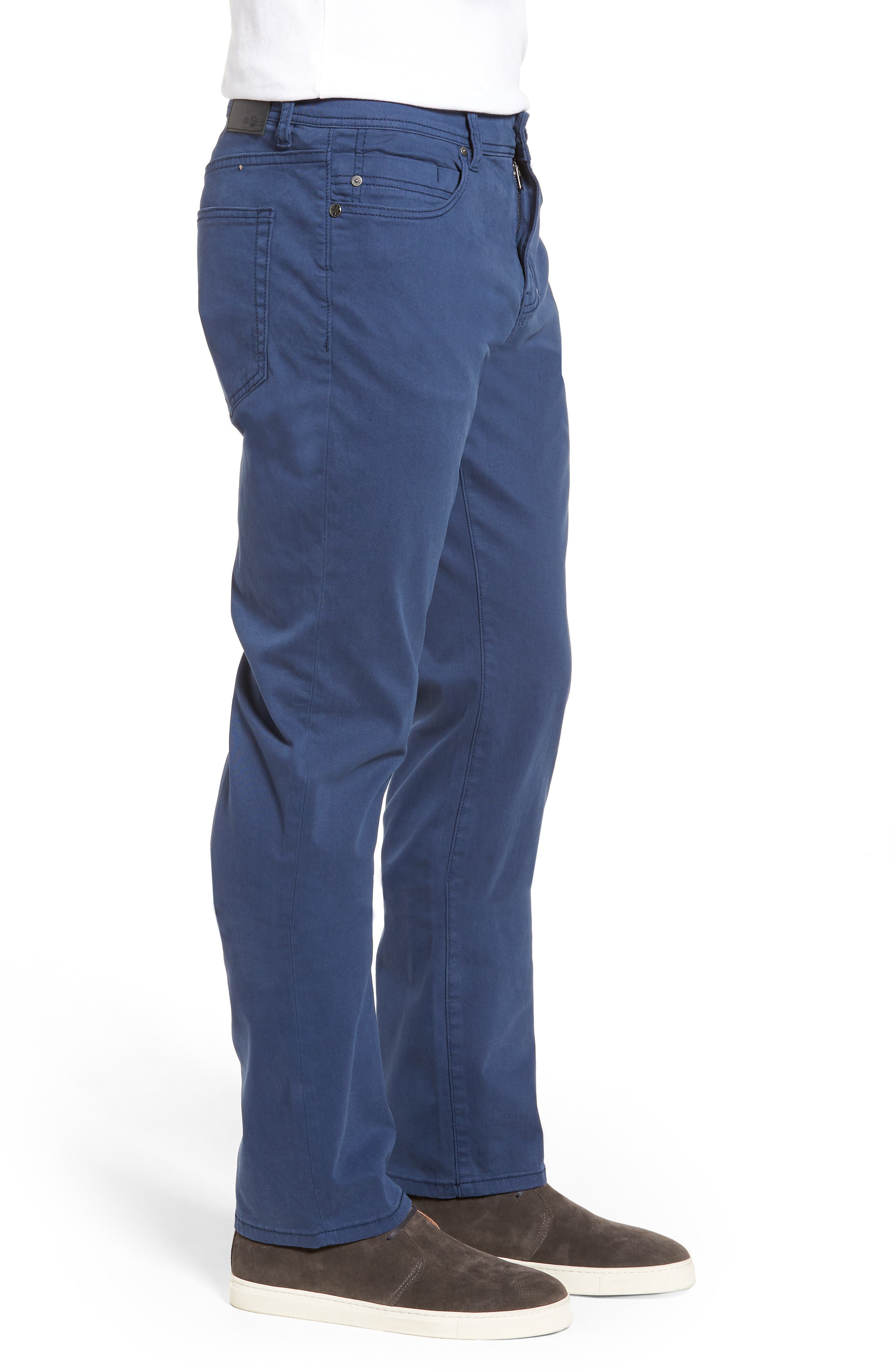 Jeans Co. Regent Relaxed Straight Leg Jeans,                             Alternate thumbnail 3, color,                             BLUE TWILIGHT