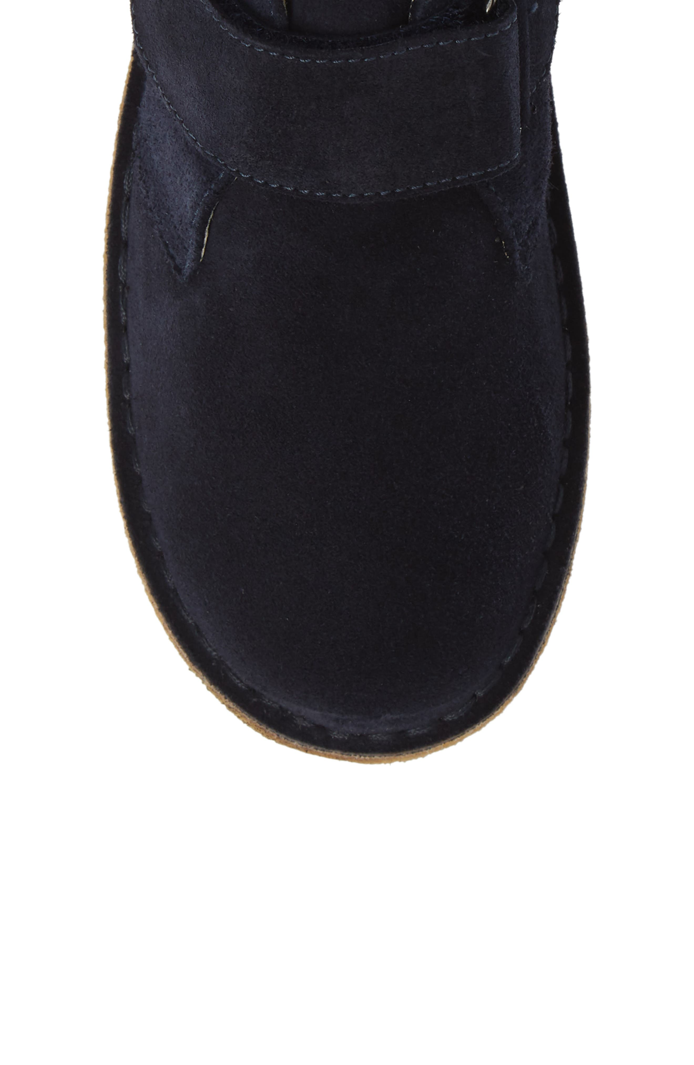 Choco Chukka Boot,                             Alternate thumbnail 5, color,                             BLUE SUEDE