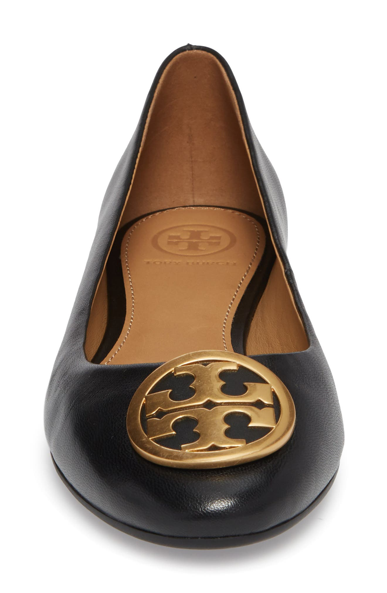 TORY BURCH,                             Benton Ballet Flat,                             Alternate thumbnail 4, color,                             006