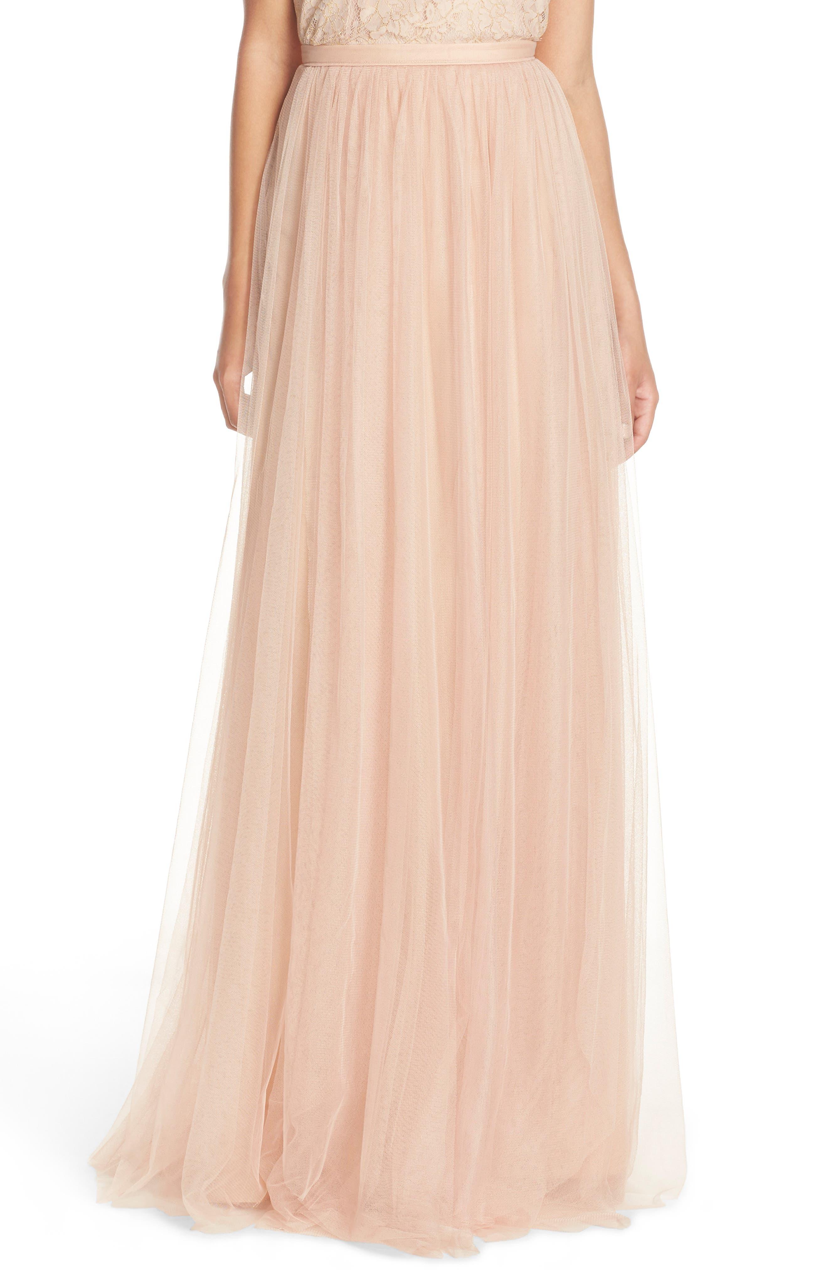 Arabella Tulle Ballgown Skirt,                             Alternate thumbnail 5, color,                             685