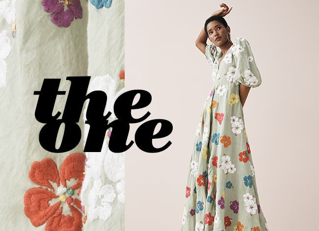 The one: a retro dress.