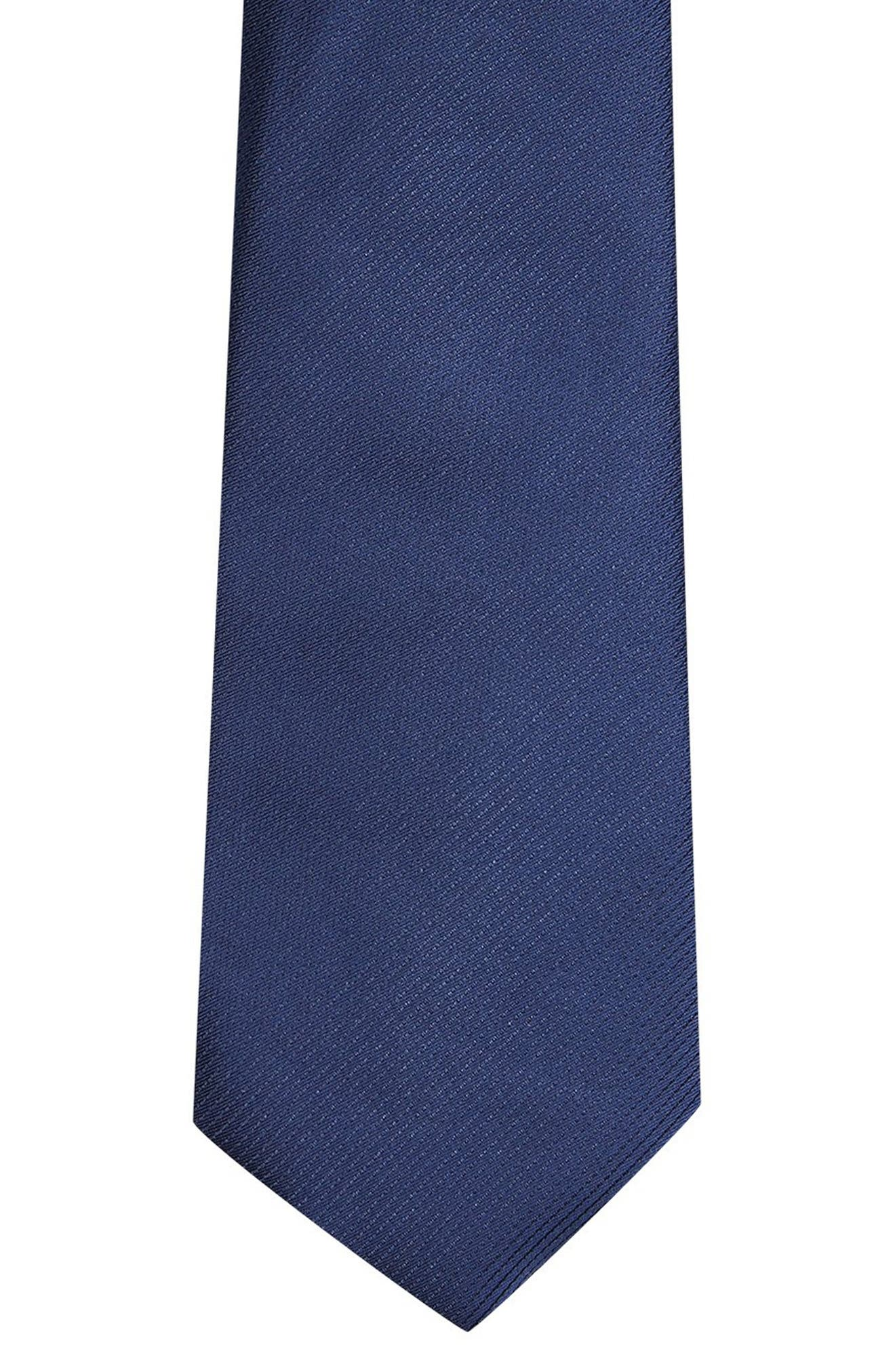 Woven Tie,                             Alternate thumbnail 2, color,                             NAVY BLUE