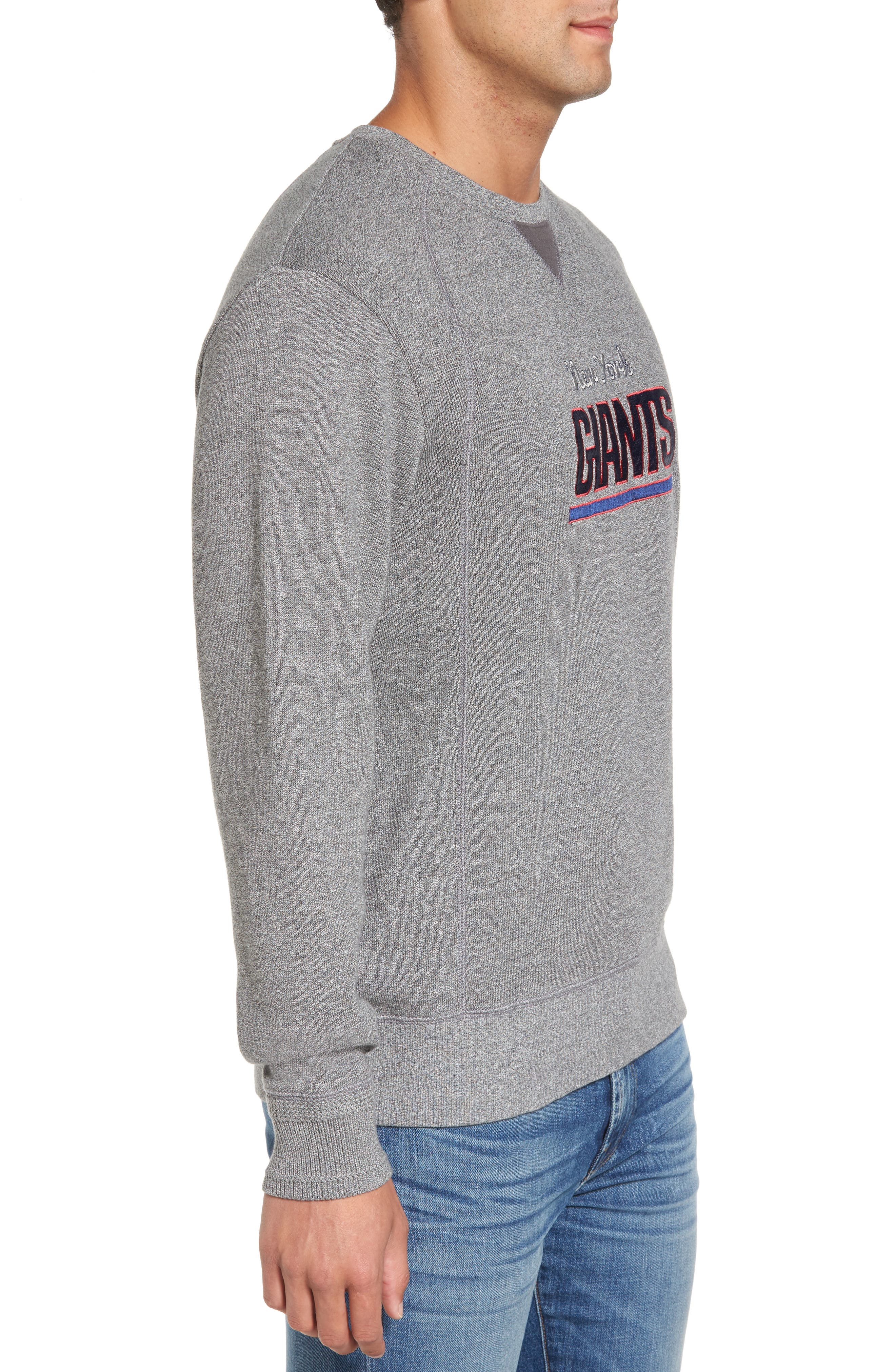 NFL Stitch of Liberty Embroidered Crewneck Sweatshirt,                             Alternate thumbnail 81, color,