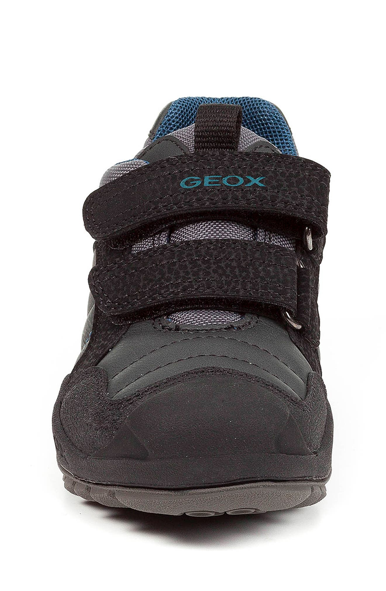 New Savage Sneaker,                             Alternate thumbnail 4, color,                             DARK GREY/PETROL