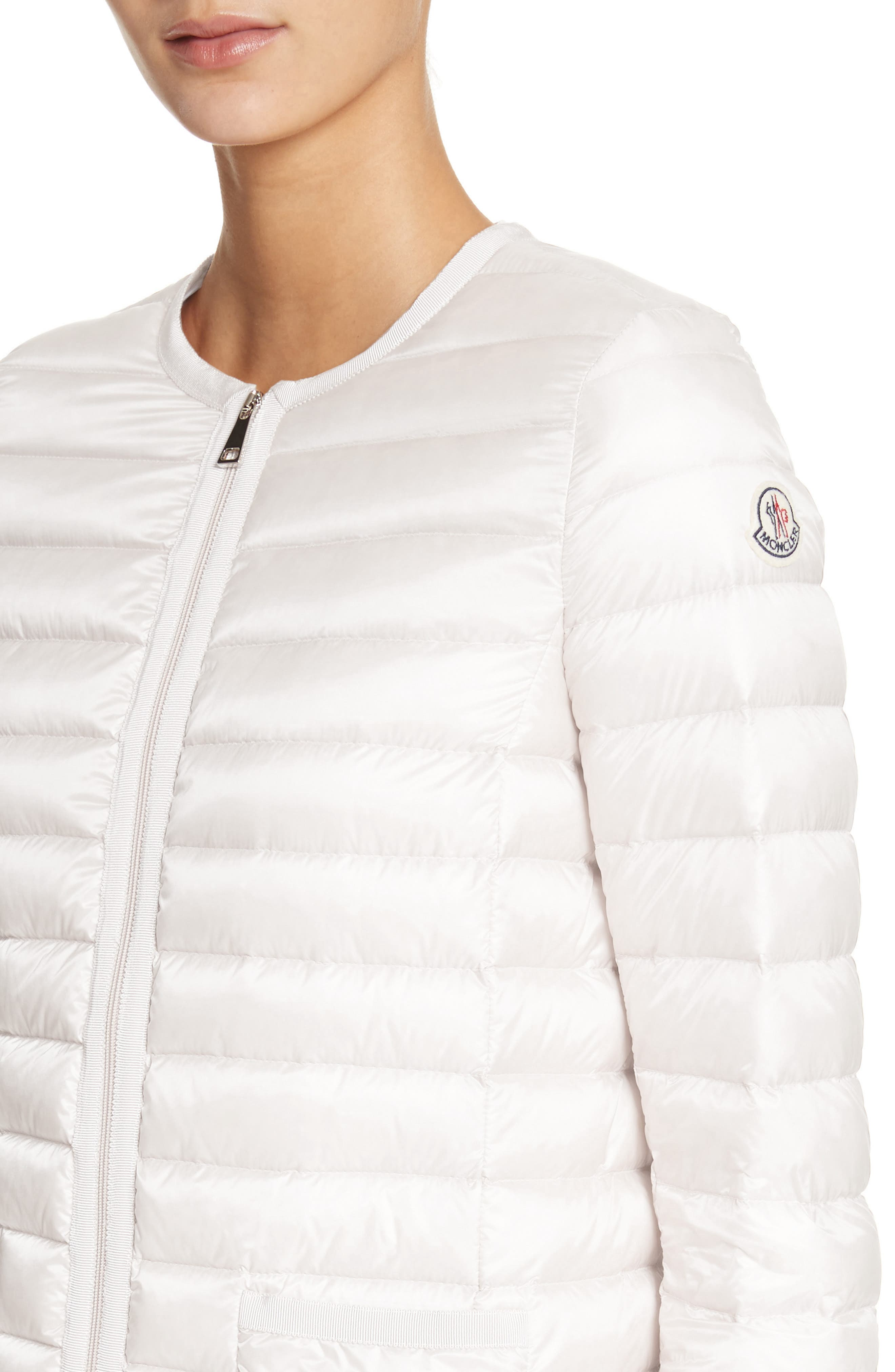 Almandin Quilted Puffer Jacket,                             Alternate thumbnail 4, color,                             101