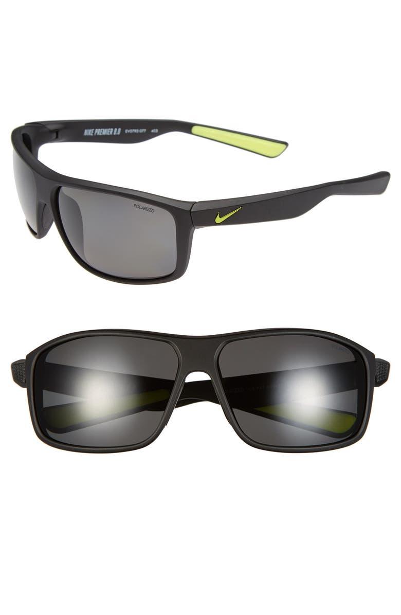 aa9a298c40 Sunglasses Nordstrom 0   premier Polarized 63mm Nike 8 w7gqO