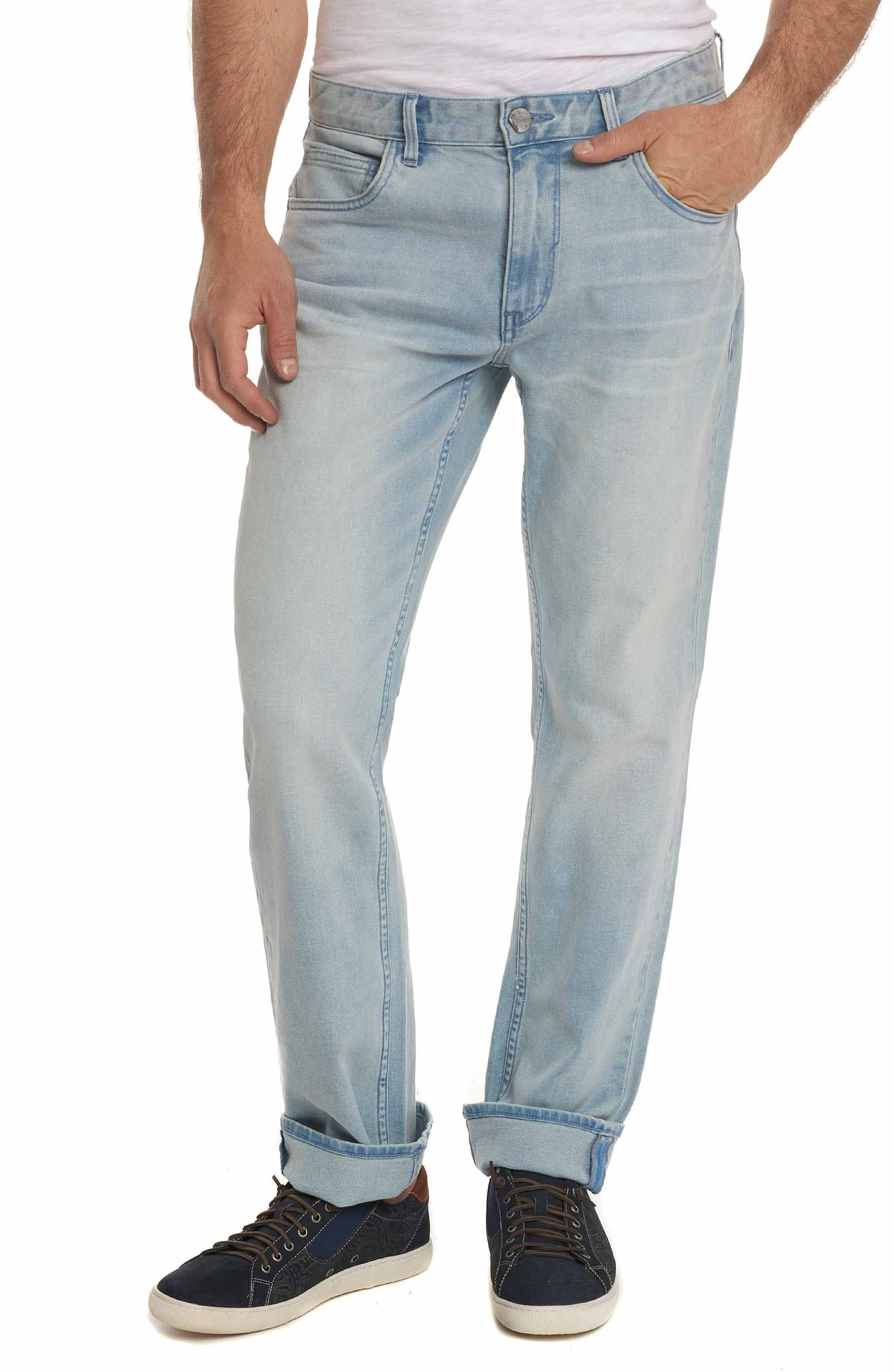 McFly Tailored Fit Jeans,                             Main thumbnail 1, color,                             LIGHT INDIGO