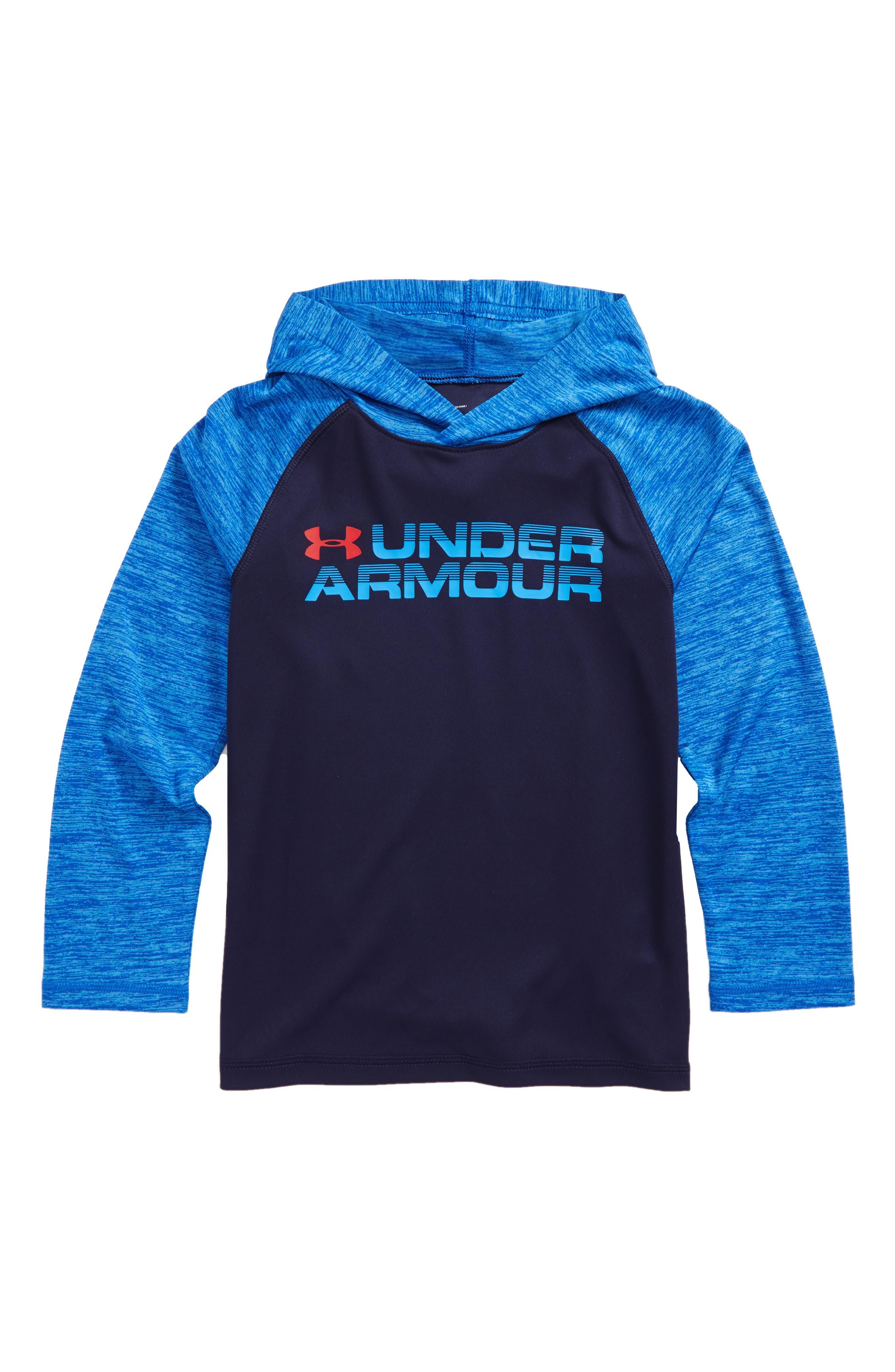 Wordmark Hooded T-Shirt,                             Main thumbnail 3, color,