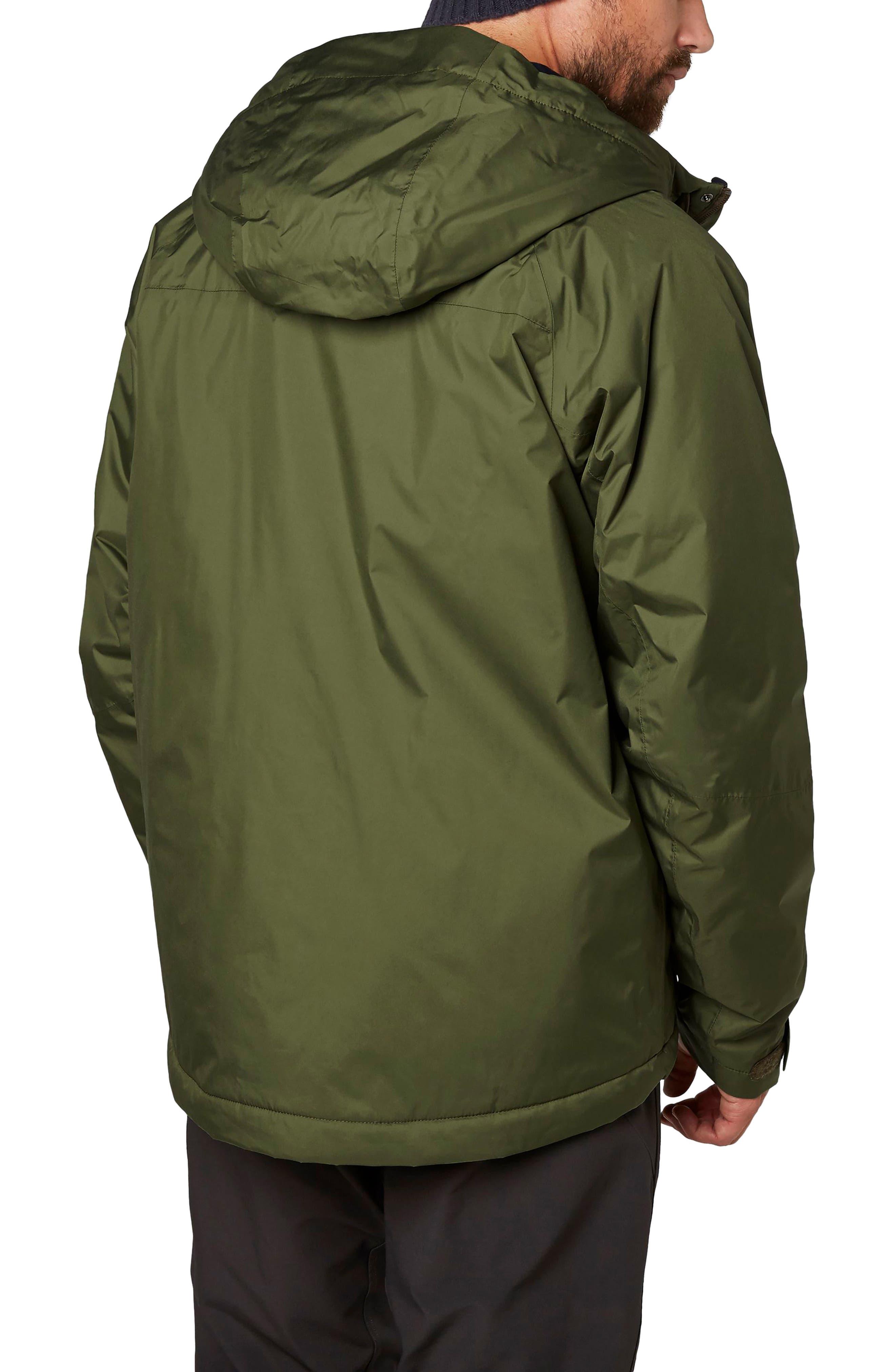 Loke Hair Waterproof Jacket,                             Alternate thumbnail 4, color,