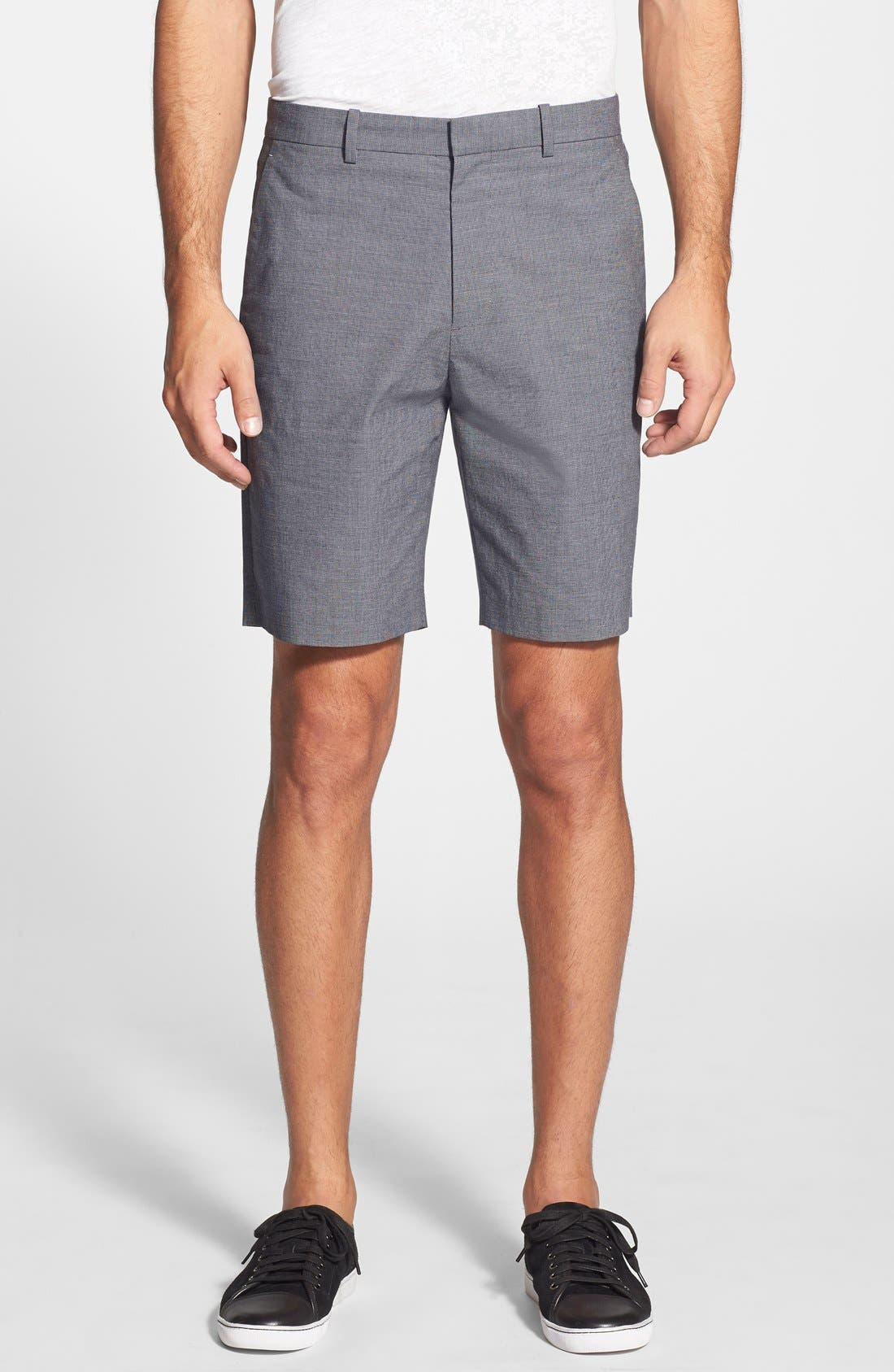'Beckit SW Z.Durward' Stretch Cotton Shorts, Main, color, 057
