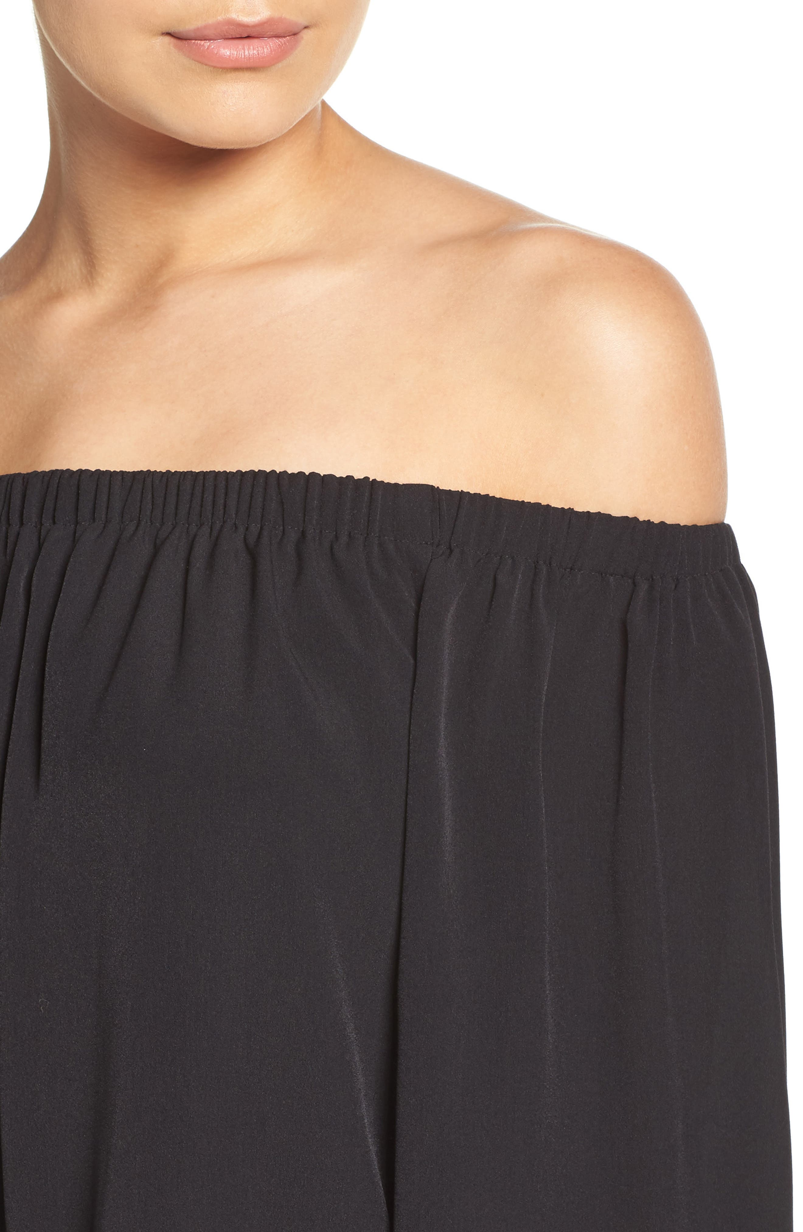 Polly Off the Shoulder Dress,                             Alternate thumbnail 11, color,