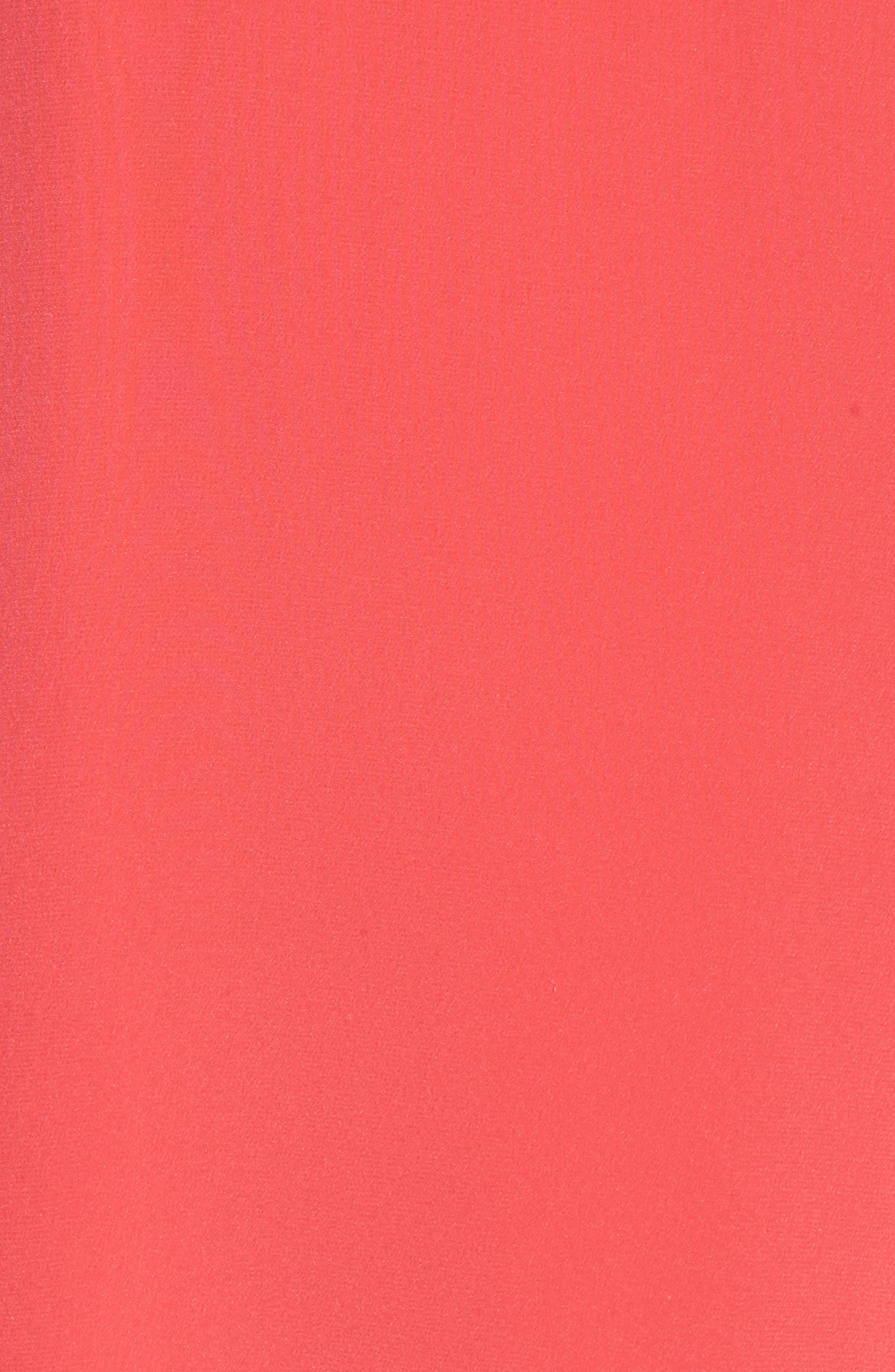 Ruffle Silk Maxi Dress,                             Alternate thumbnail 5, color,                             620