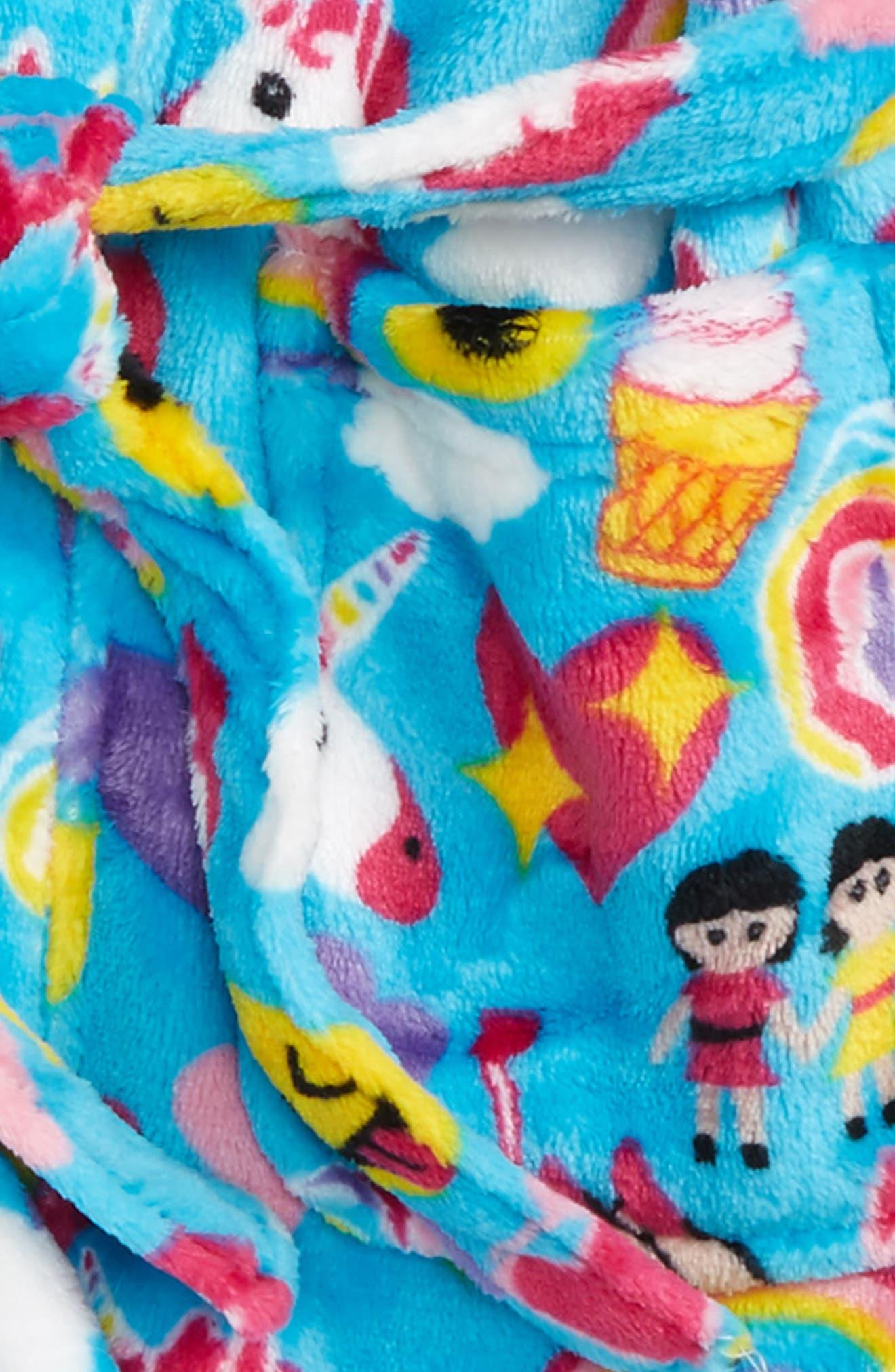 Holiday Print Robe,                             Alternate thumbnail 2, color,                             400