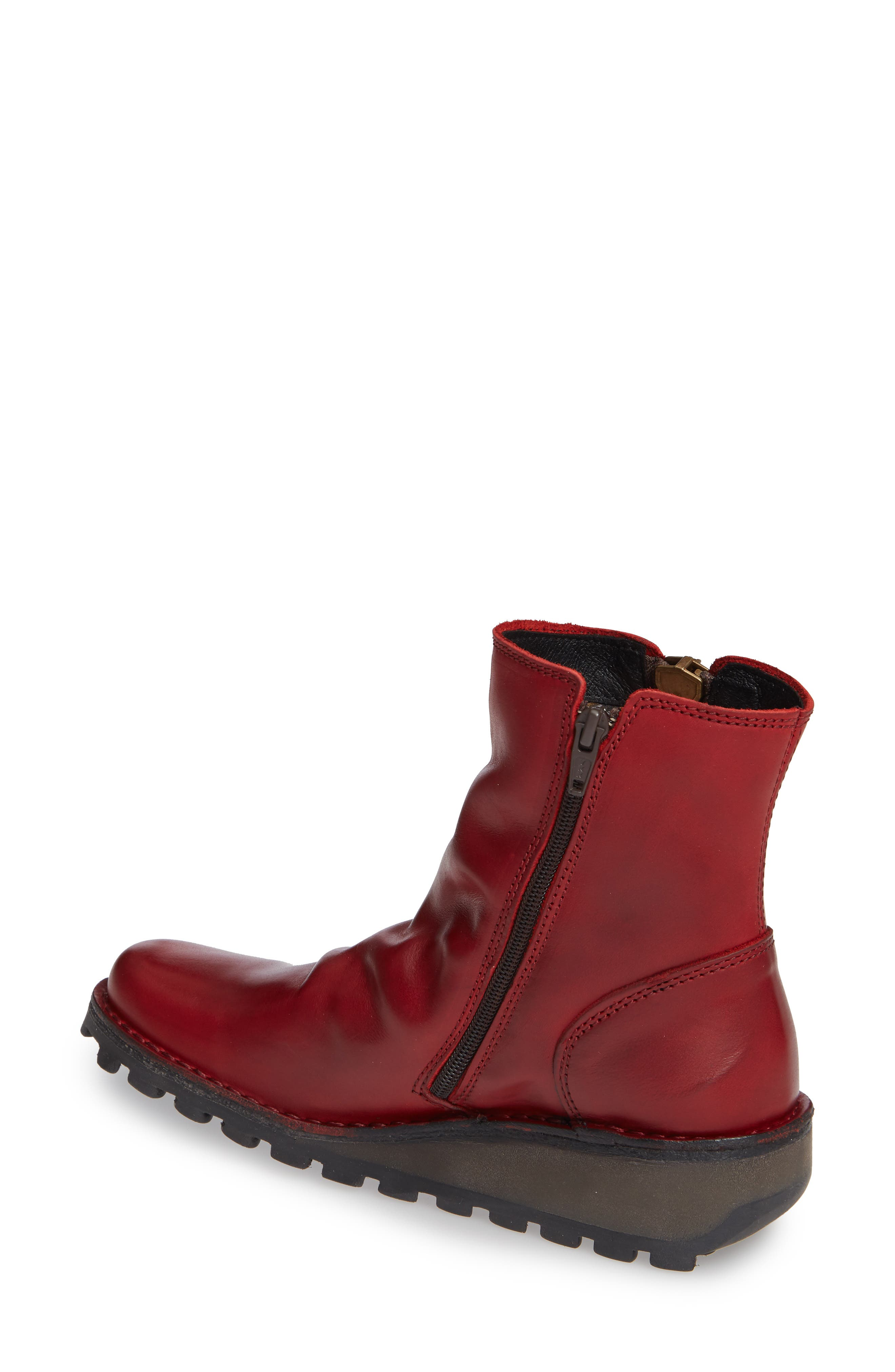 Mong Boot,                             Alternate thumbnail 2, color,                             RED