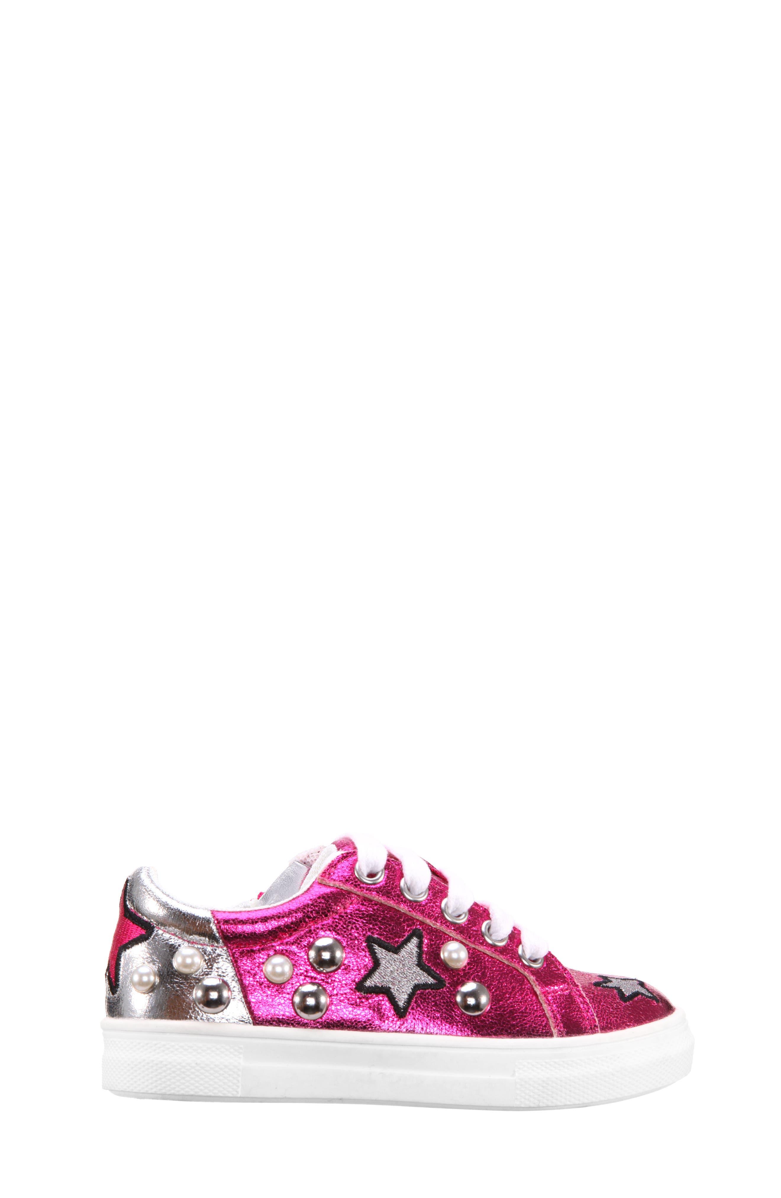 Kryslyn Metallic Sneaker,                             Alternate thumbnail 3, color,                             694