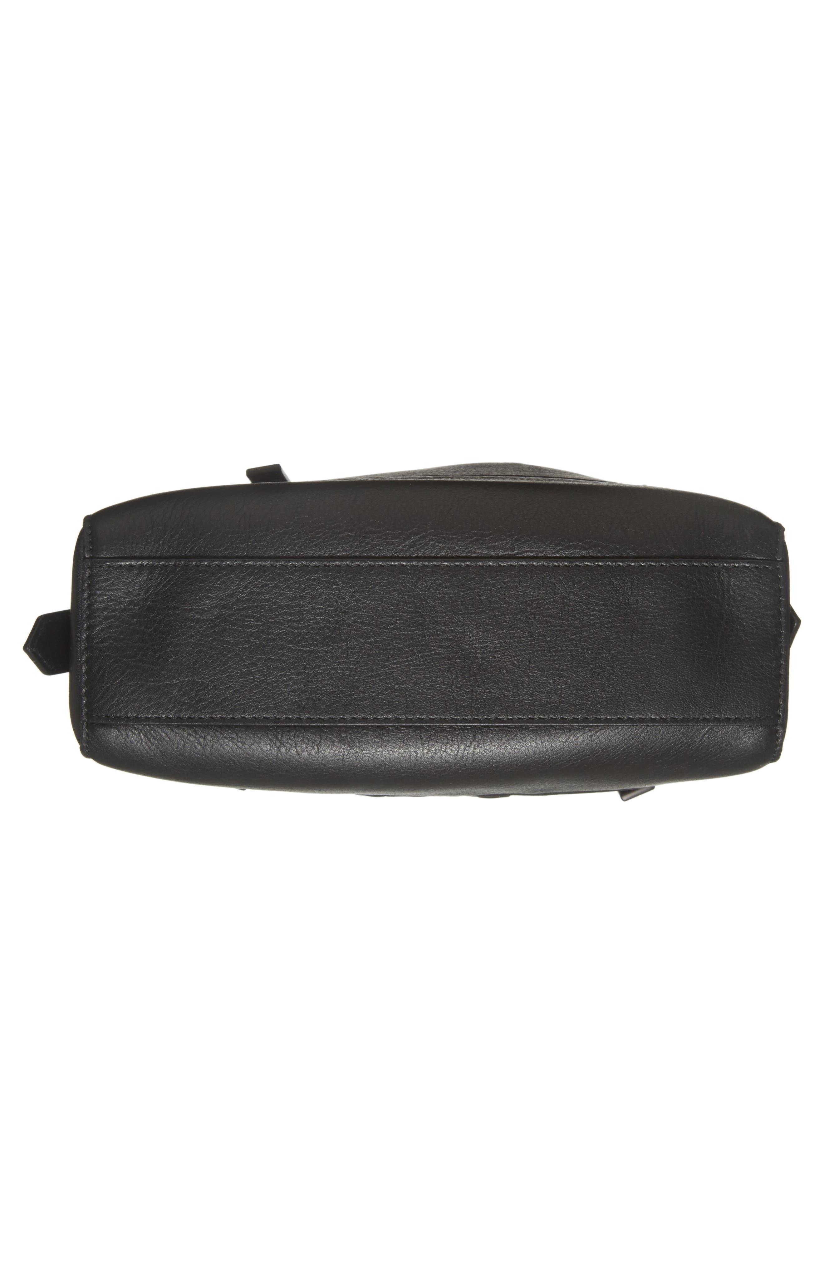 Mini Kalifornia Leather Shoulder Bag,                             Alternate thumbnail 6, color,                             001