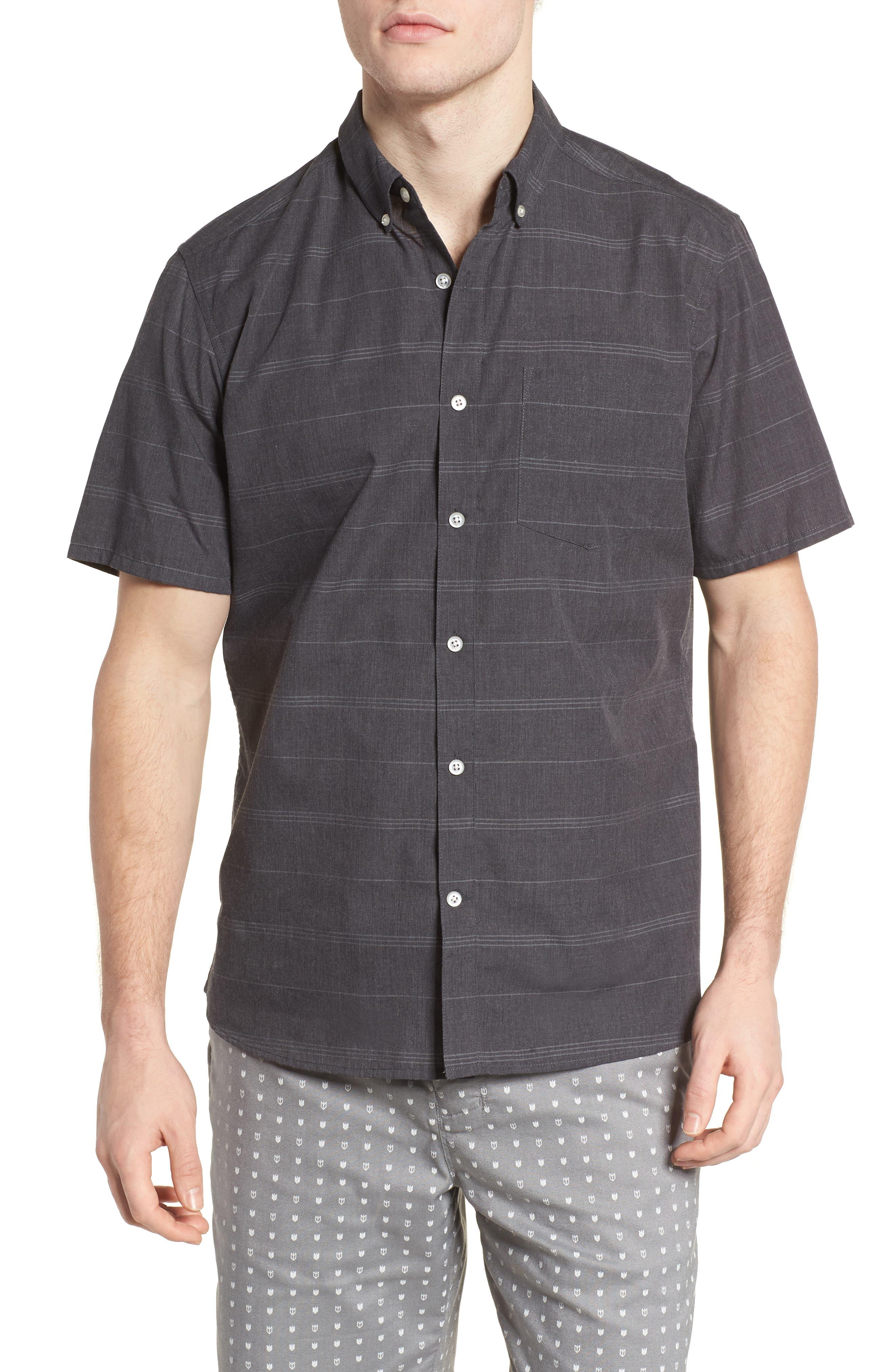HURLEY,                             Dri-FIT Rhythm Shirt,                             Main thumbnail 1, color,                             010
