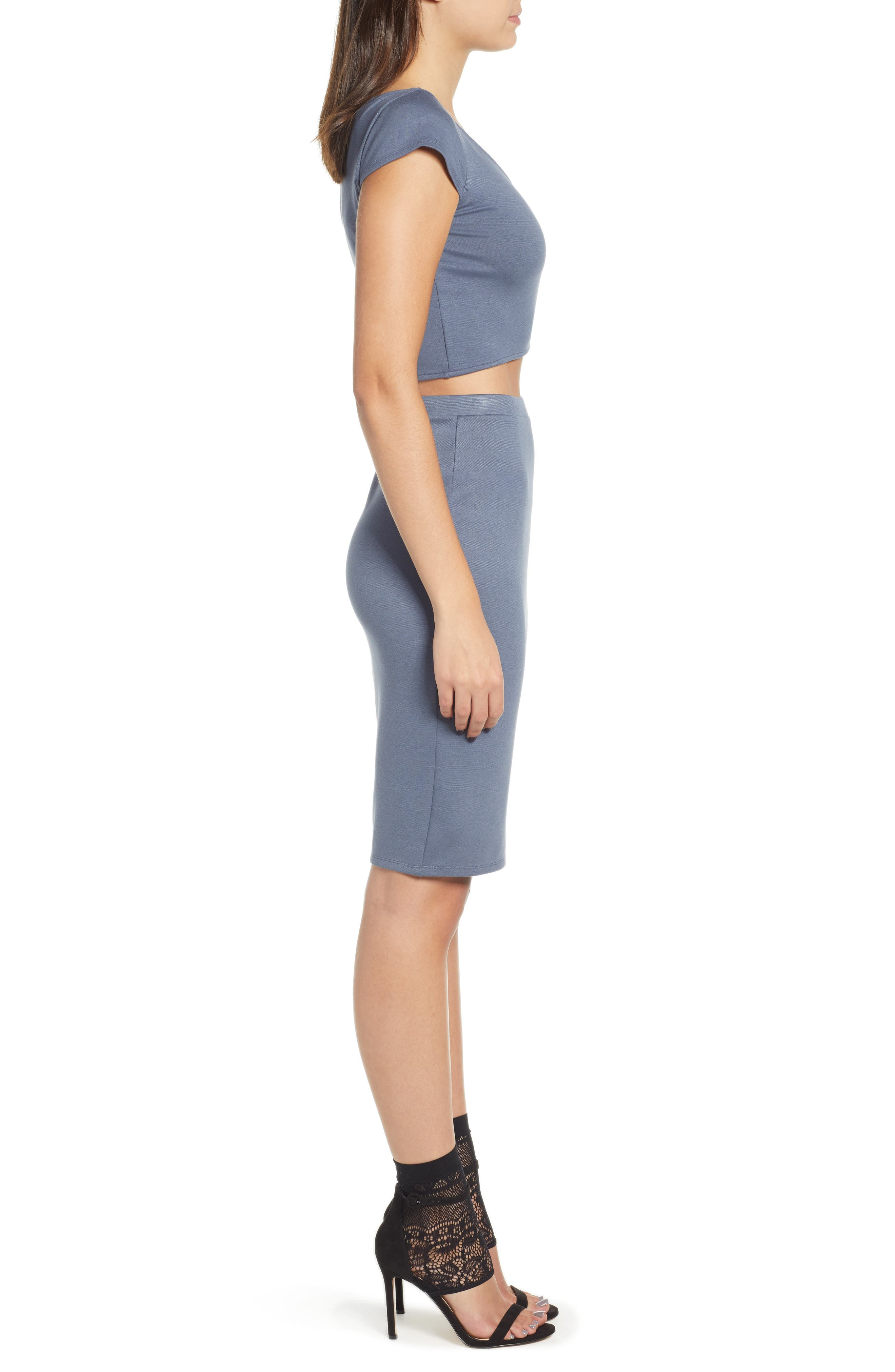 Pencil Skirt,                             Alternate thumbnail 9, color,                             GREY GRISAILLE