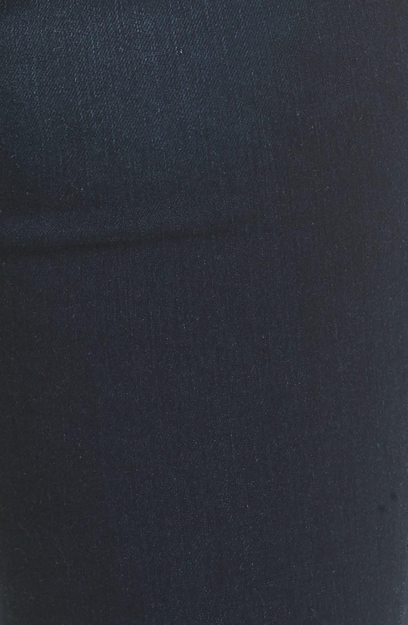 Le Skinny de Jeanne Sweetheart Hem Jeans,                             Alternate thumbnail 5, color,                             LONGSTREET