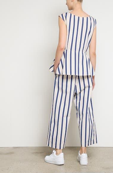 Stripe Wide Leg Pants, video thumbnail