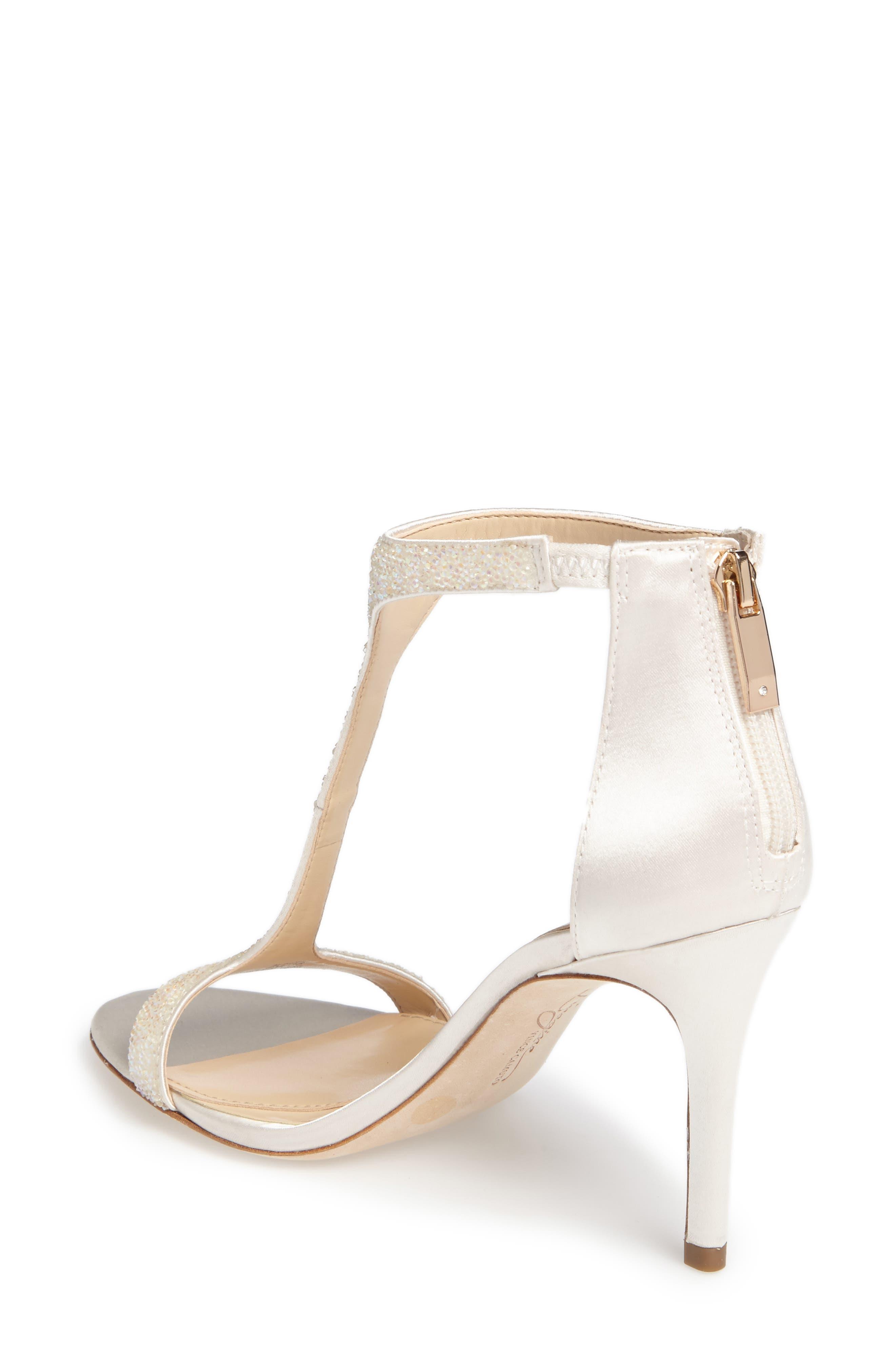 'Phoebe' Embellished T-Strap Sandal,                             Alternate thumbnail 32, color,