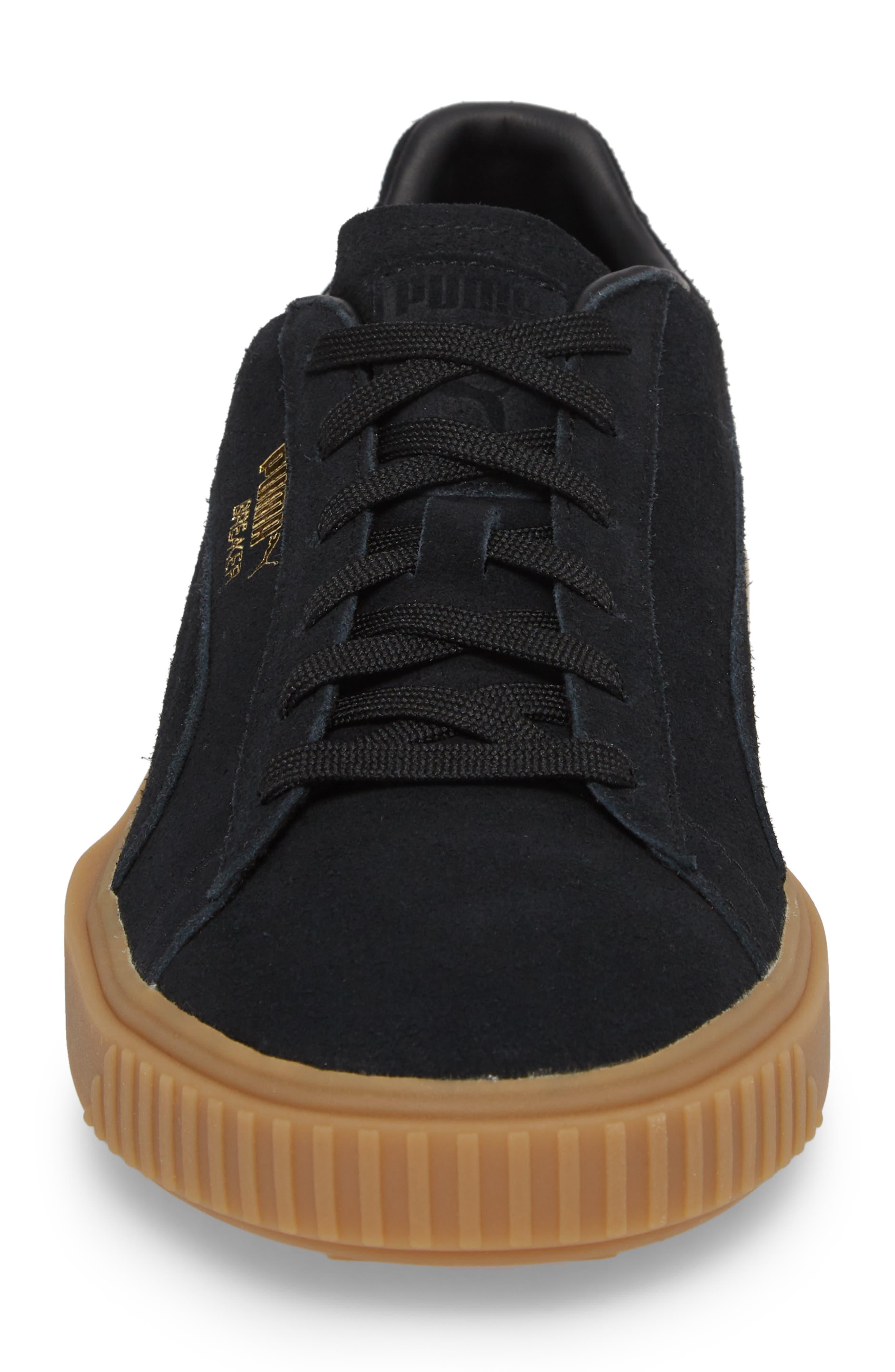 Breaker Suede Gum Low Top Sneaker,                             Alternate thumbnail 7, color,