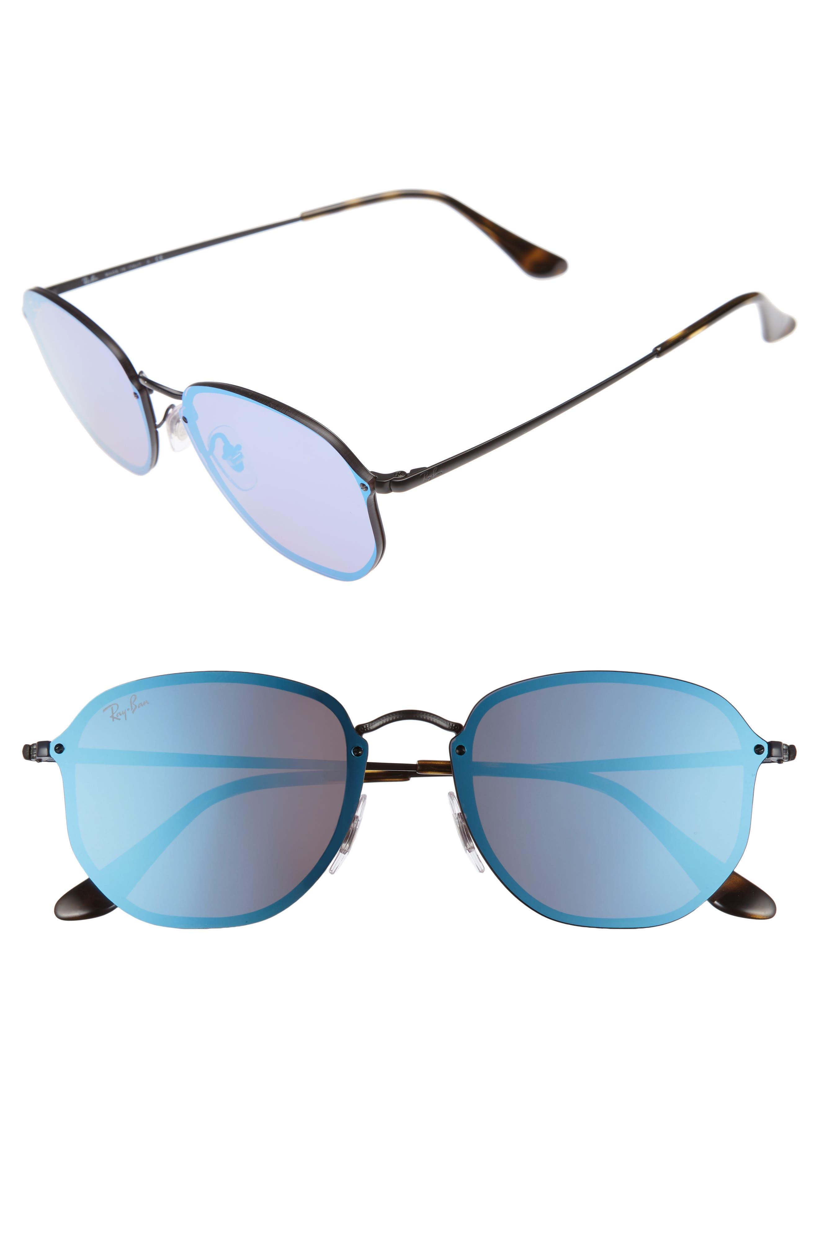 Ray-Ban Erika Classic 5m Sunglasses - Black/ Grey Gradient