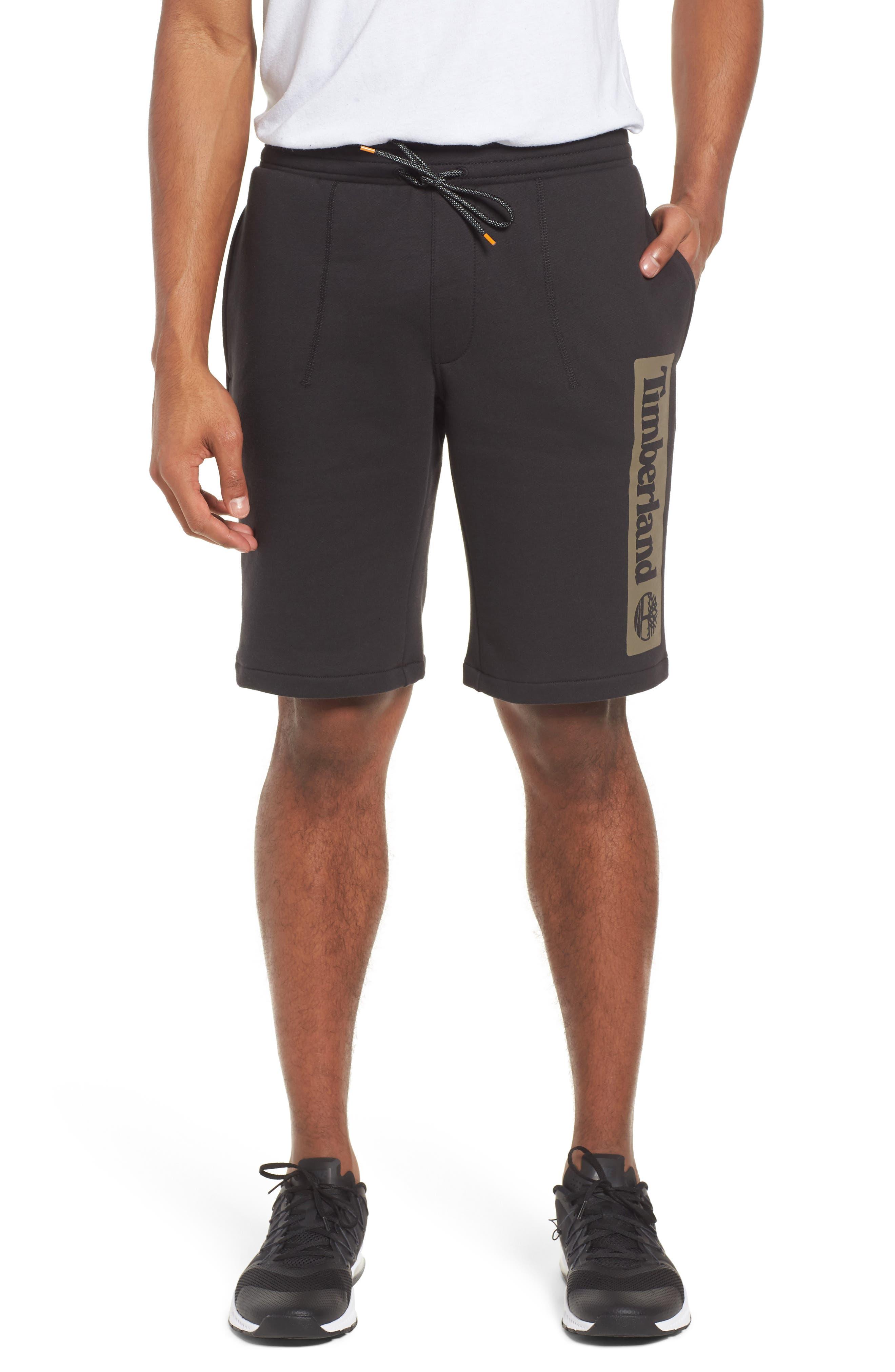 Logo Jogger Shorts,                         Main,                         color, BLACK LINEAR