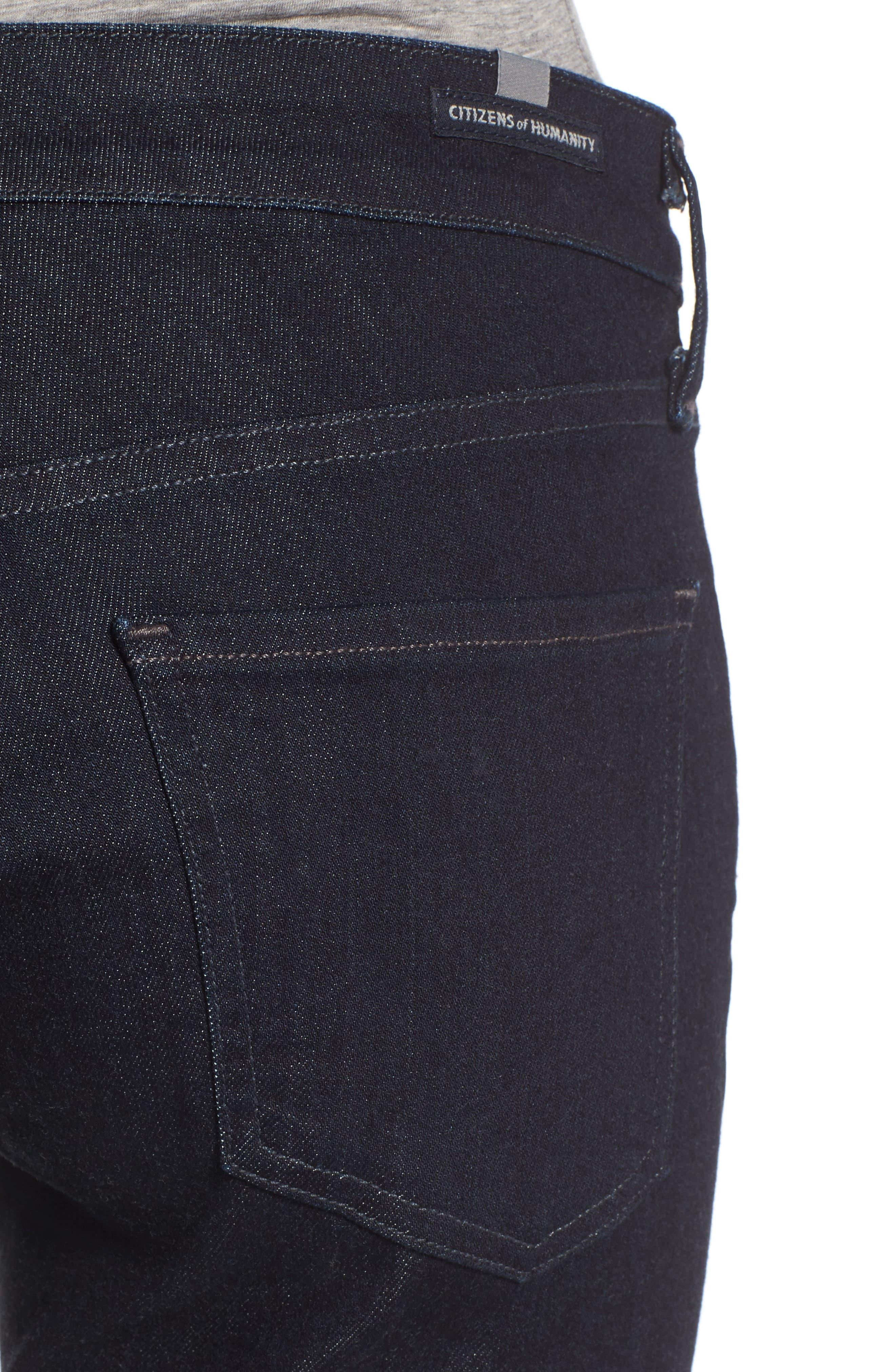 Arielle Slim Jeans,                             Alternate thumbnail 4, color,                             403