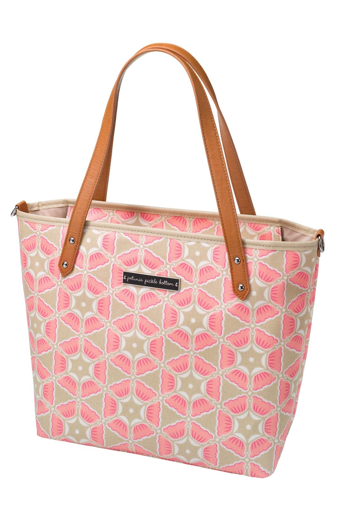 'Downtown Mini' Coated Canvas Diaper Tote,                             Main thumbnail 10, color,