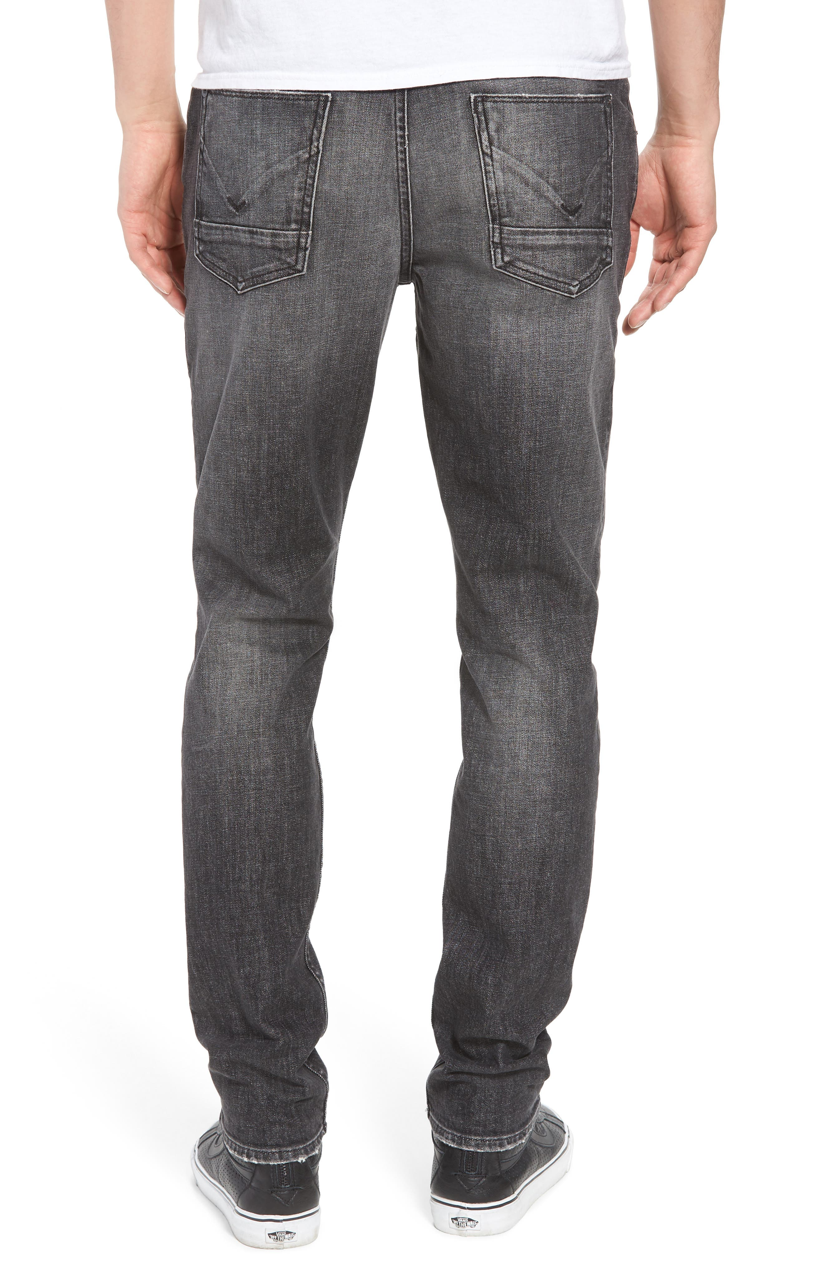 Axl Skinny Fit Jeans,                             Alternate thumbnail 2, color,                             001