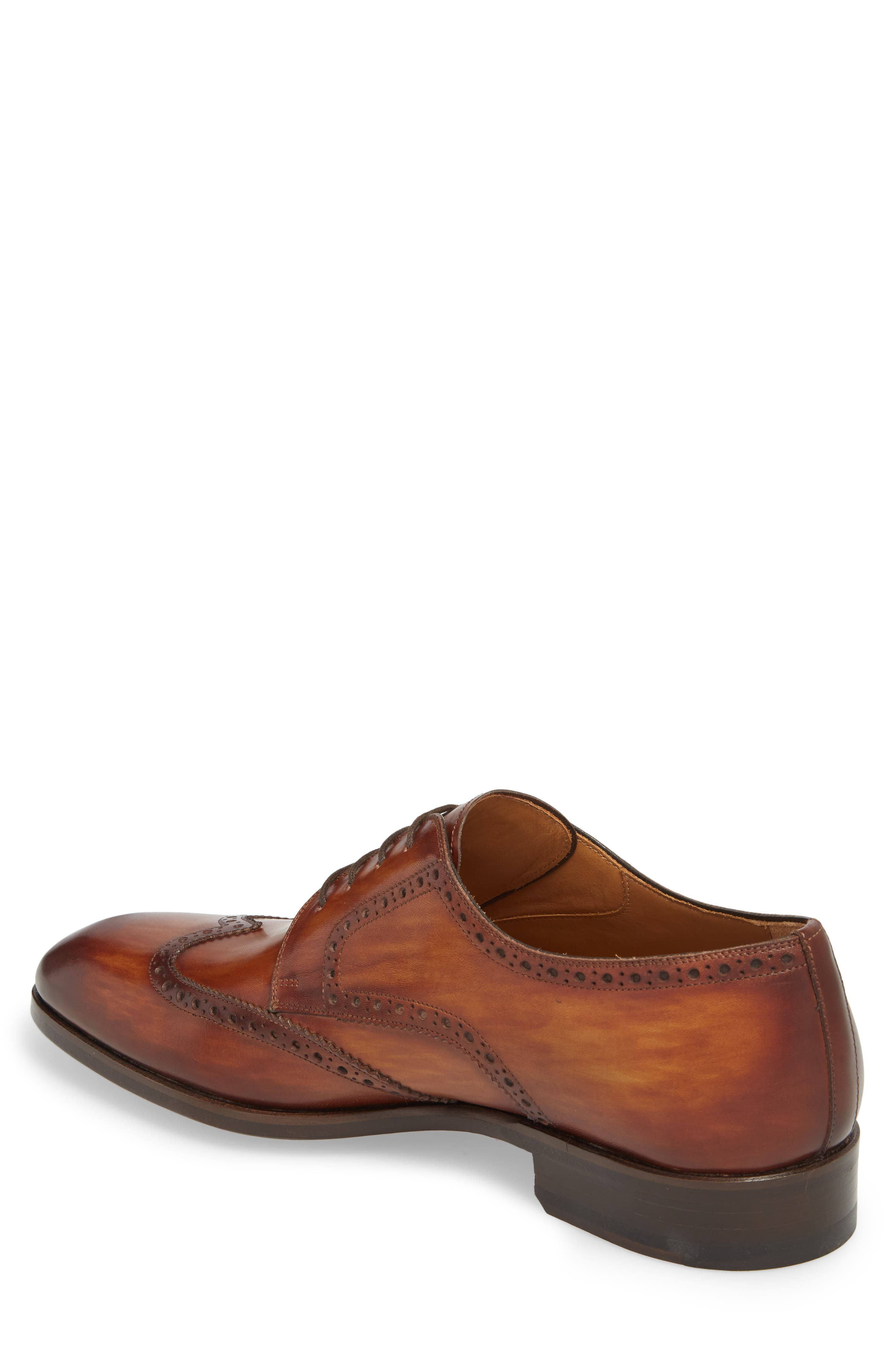 Bosco Wingtip Derby,                             Alternate thumbnail 2, color,                             BROWN LEATHER