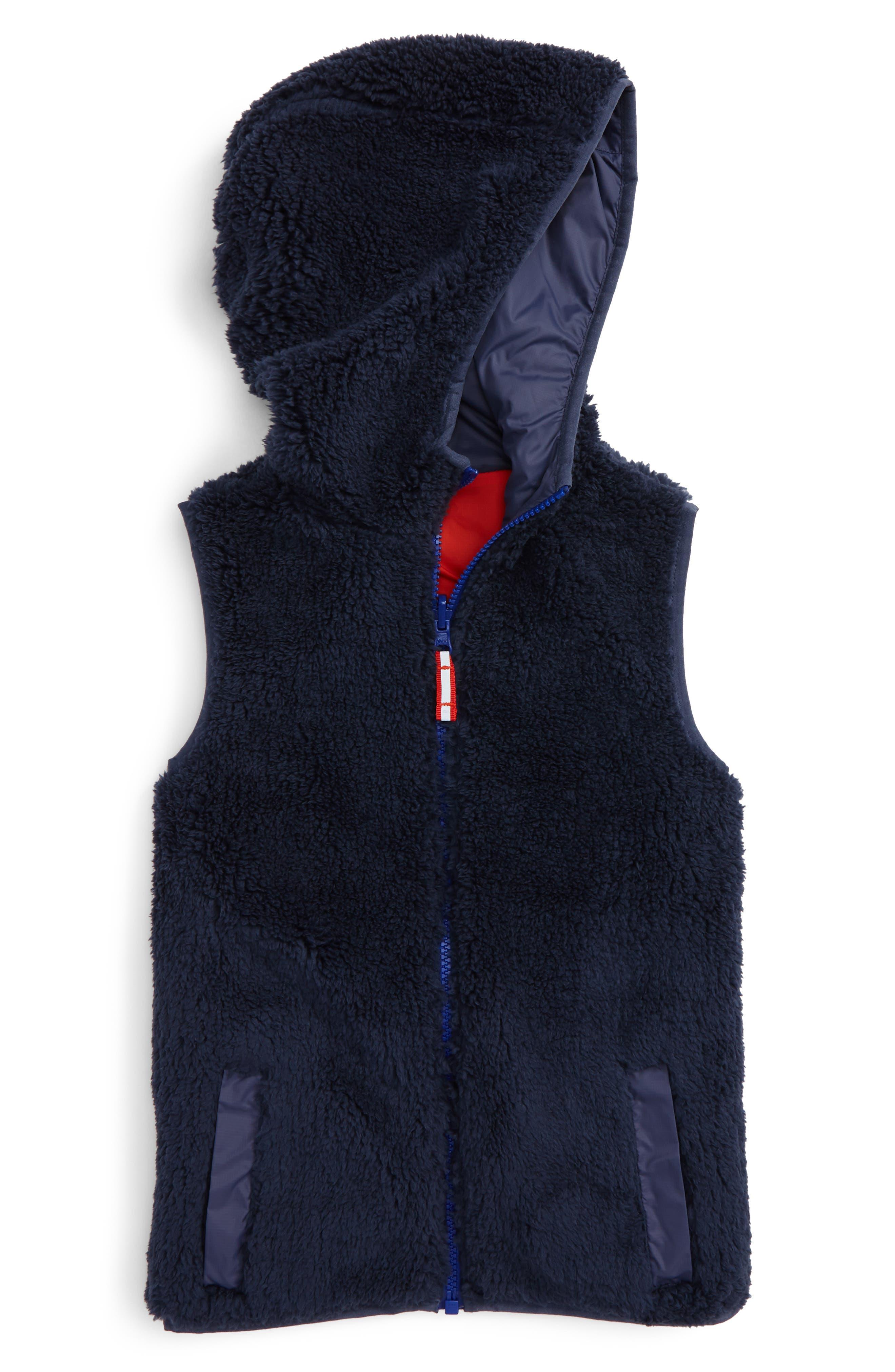Cozy Reversible Vest,                             Alternate thumbnail 4, color,