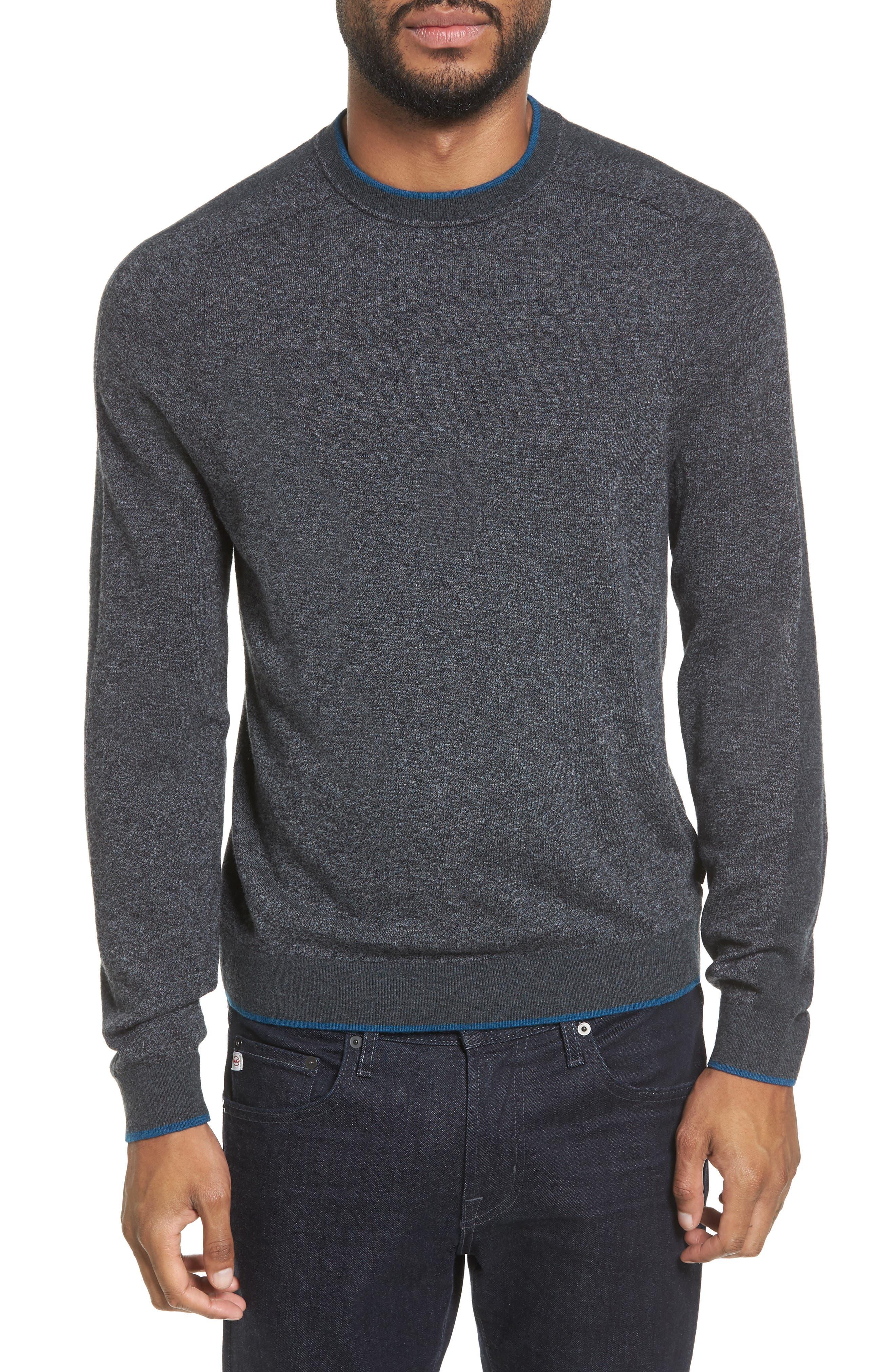 Norpol Crewneck Sweater,                             Main thumbnail 1, color,                             010