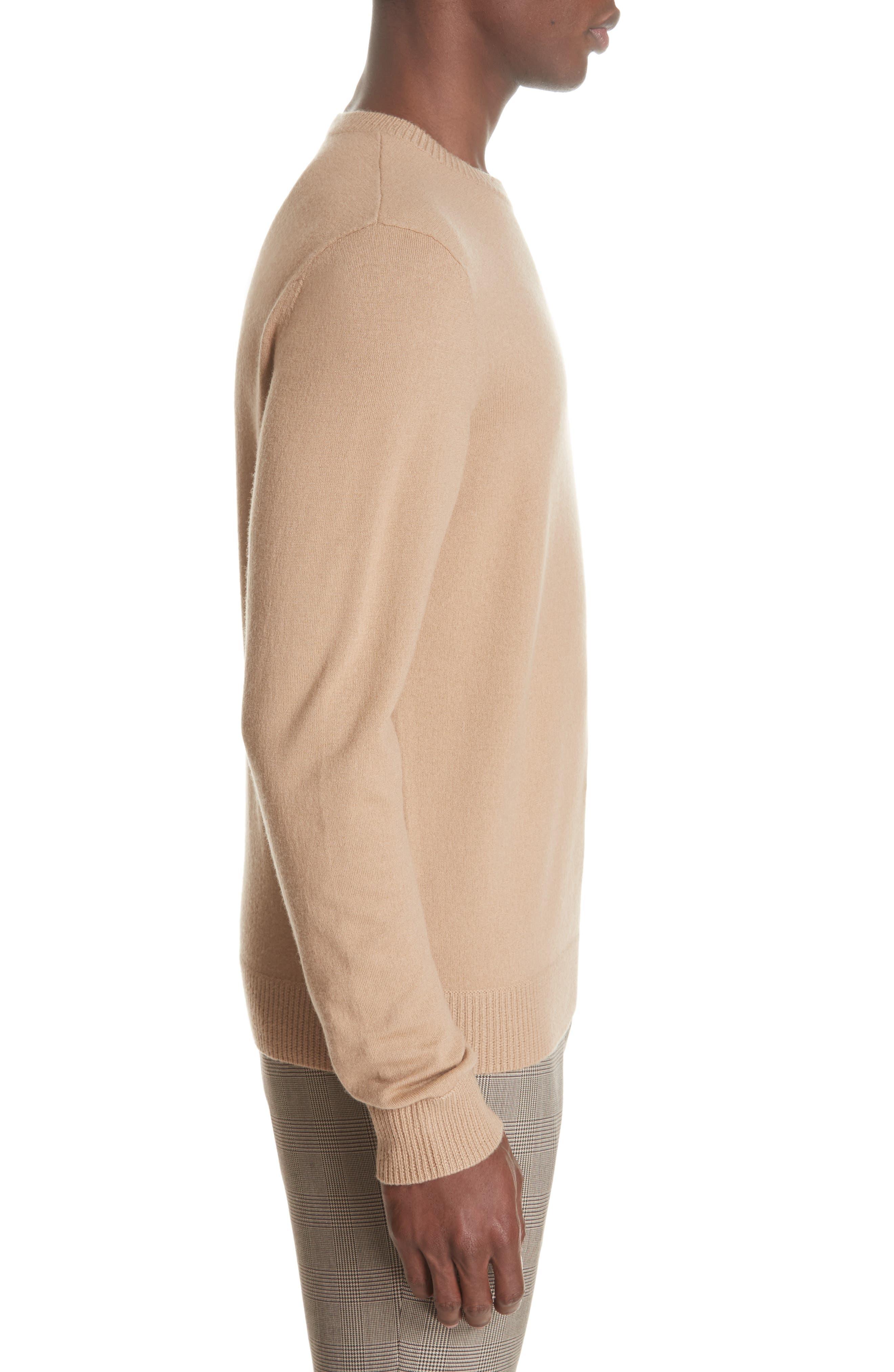 Merino Wool Crewneck Sweater,                             Alternate thumbnail 3, color,                             240