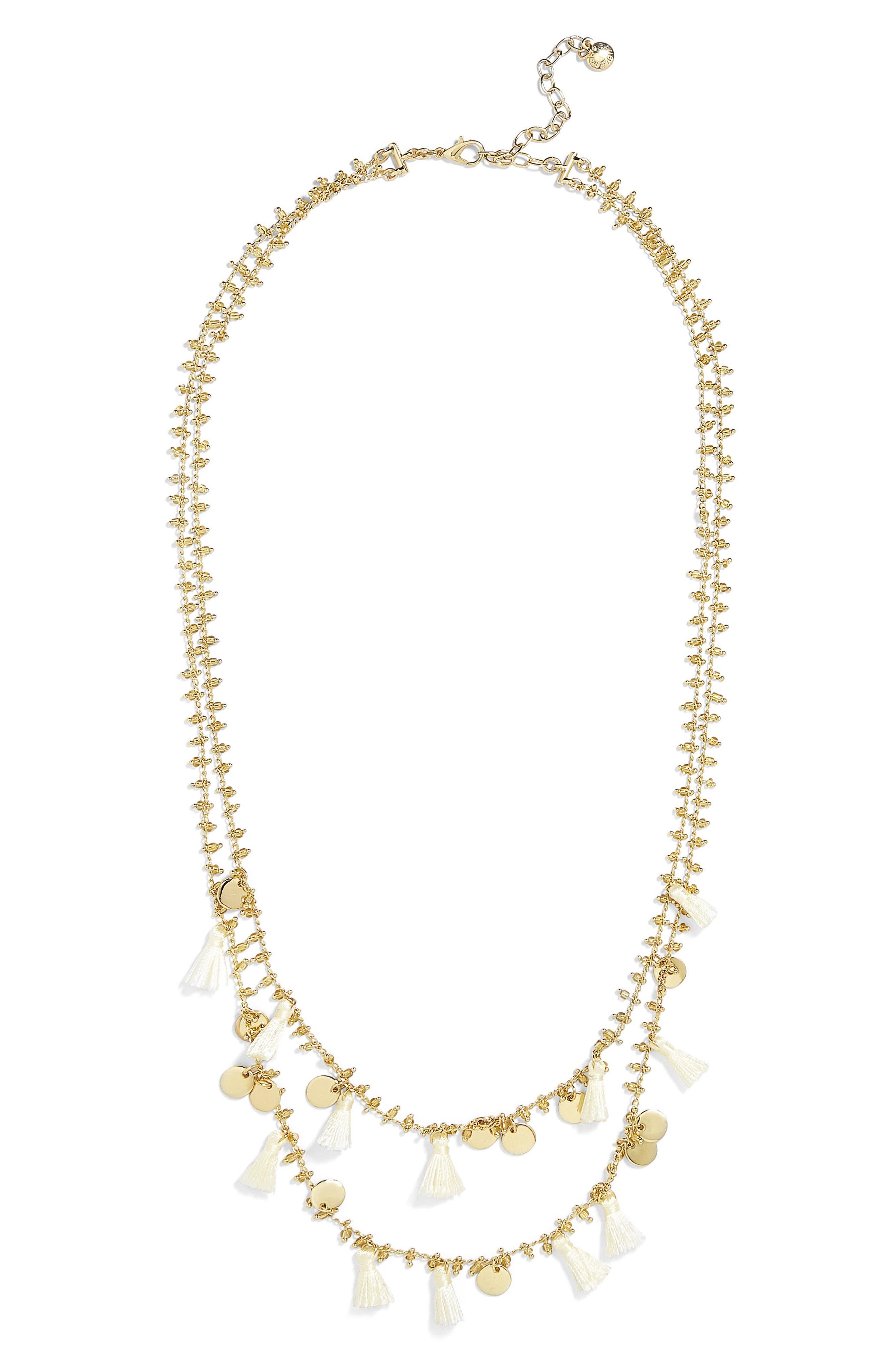 Kirana Mini Tassel Layered Necklace,                         Main,                         color, 251