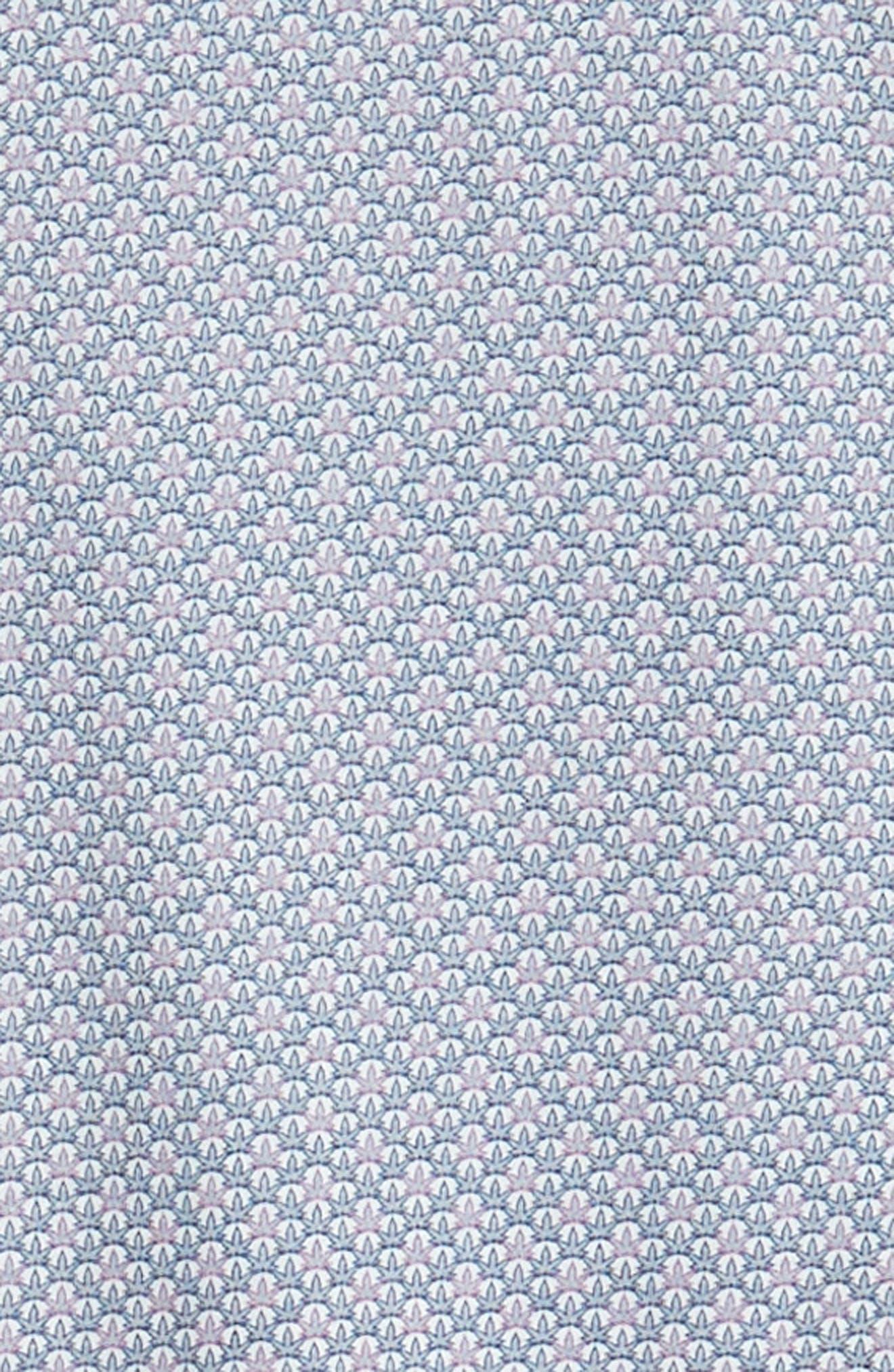 Trim Fit Knit Sport Shirt,                             Alternate thumbnail 6, color,                             100