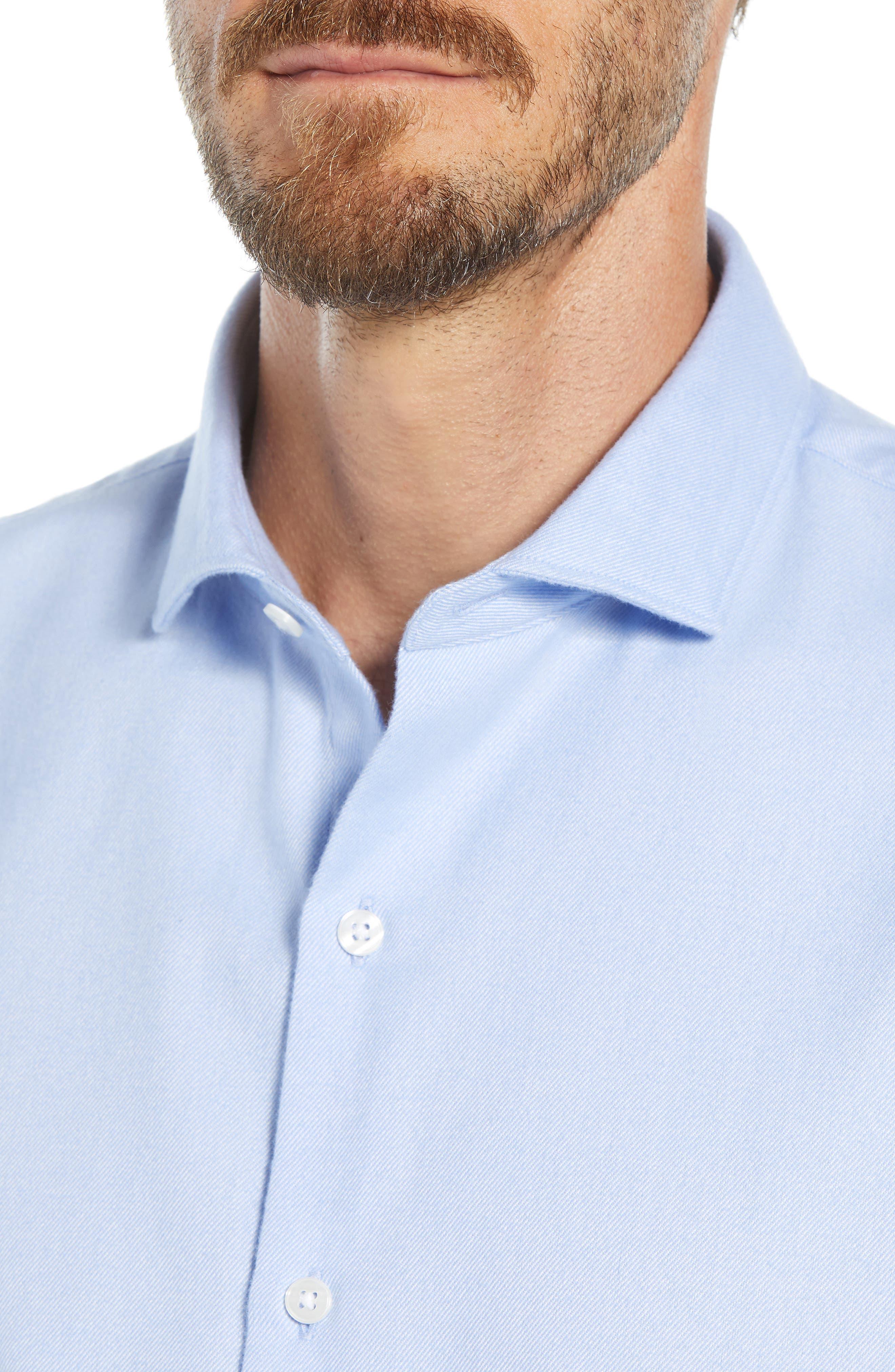Unbutton Slim Fit Sport Shirt,                             Alternate thumbnail 2, color,                             400