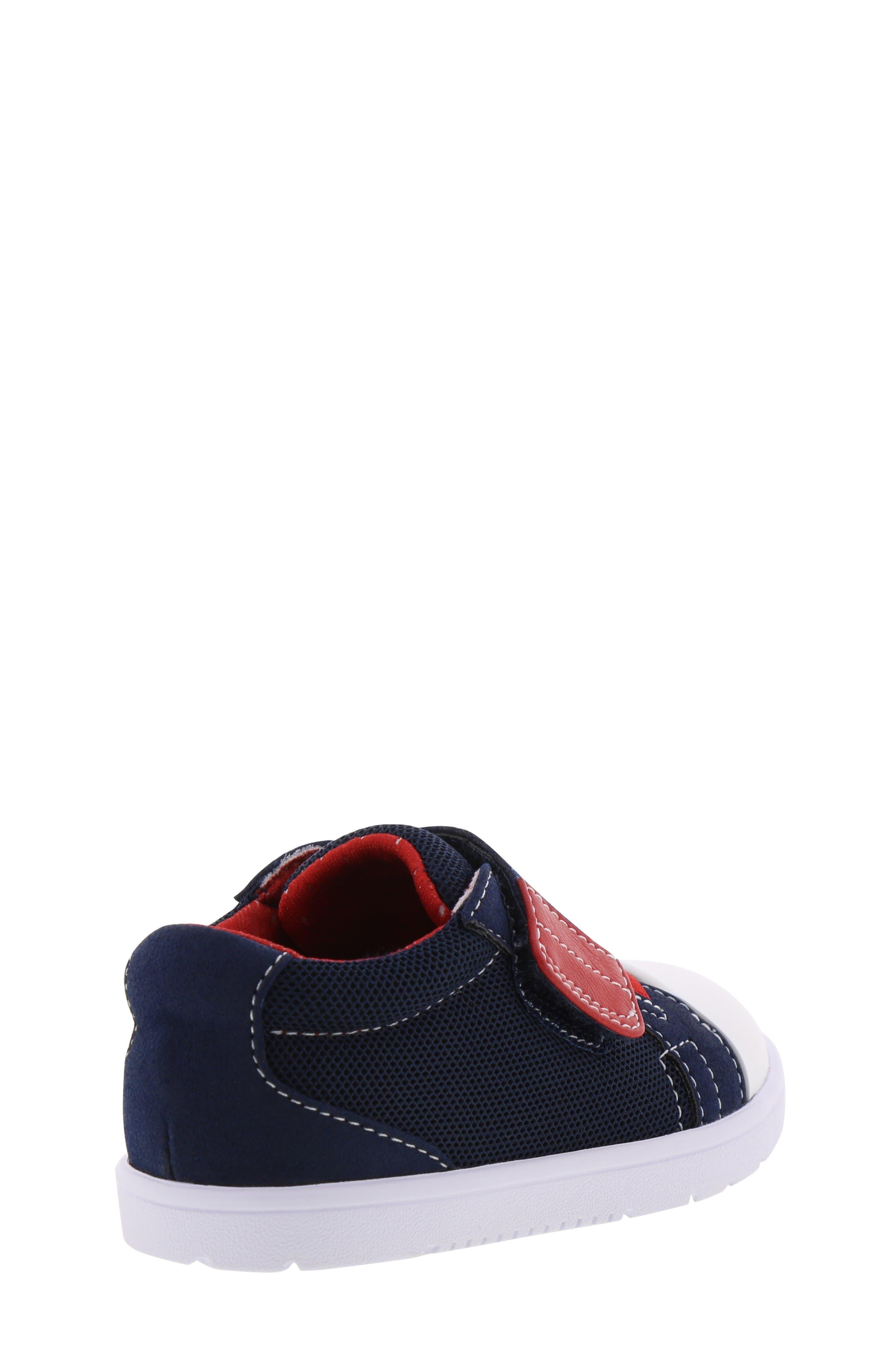 BØRN,                             Bailey Clark Sneaker,                             Alternate thumbnail 2, color,                             NAVY