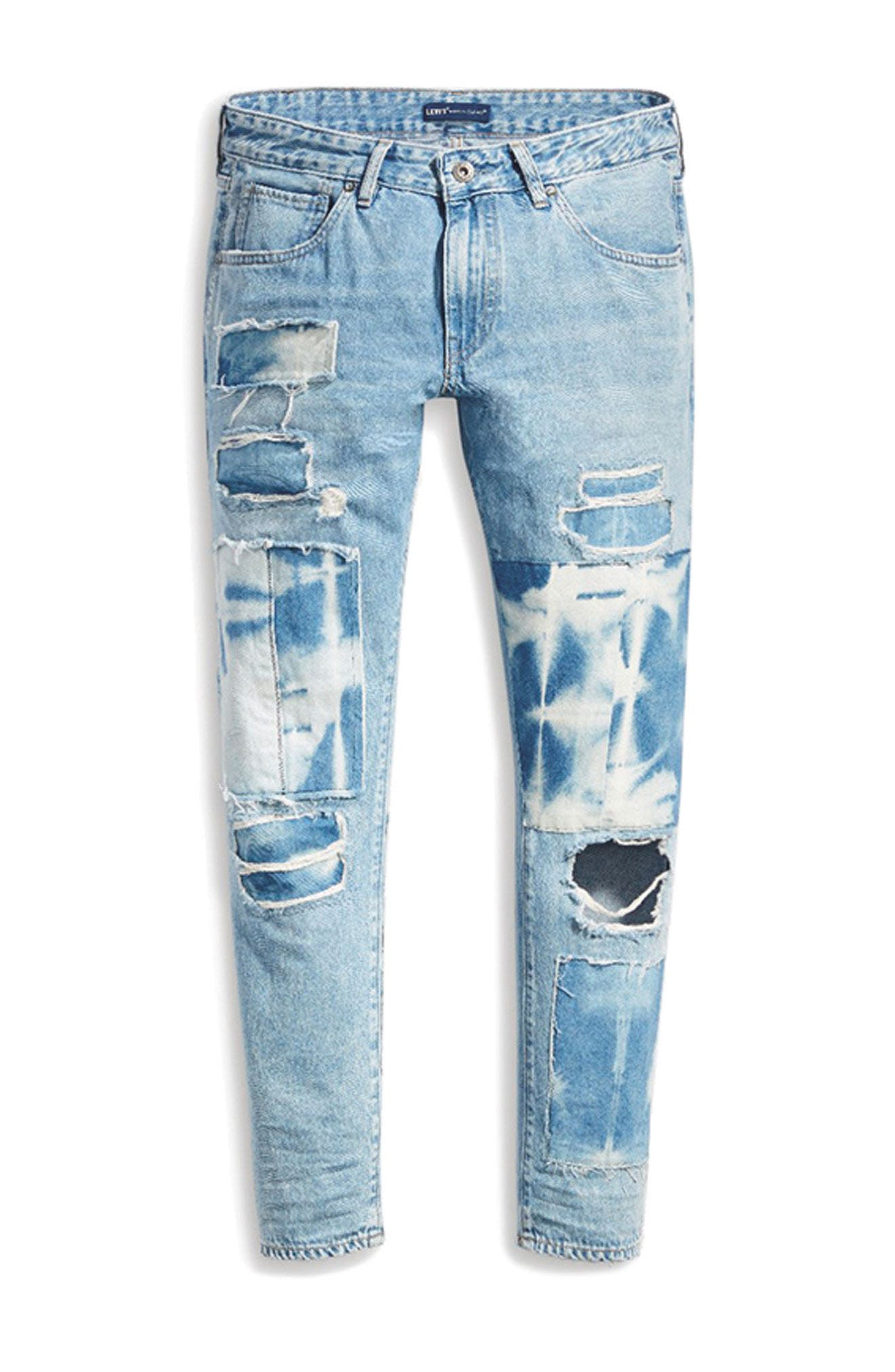 Crush Tapered Jeans,                             Alternate thumbnail 8, color,