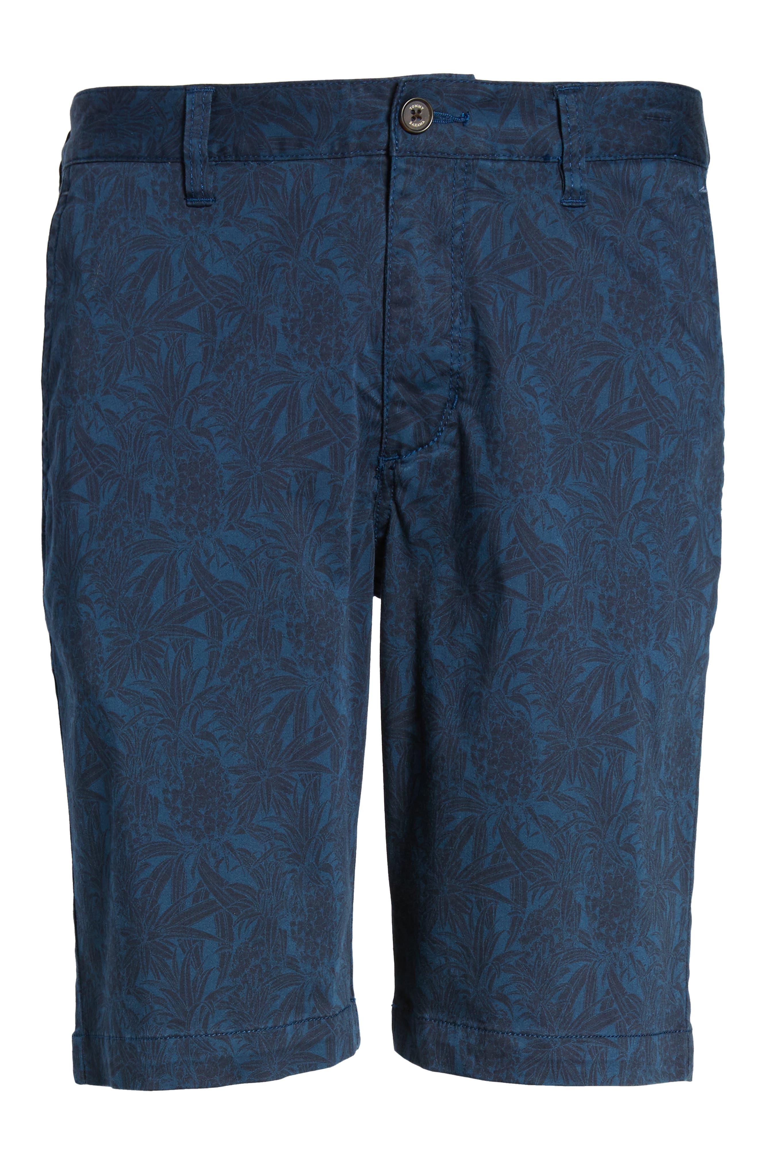 Camo Tropic Standard Fit Chino Shorts,                             Alternate thumbnail 12, color,