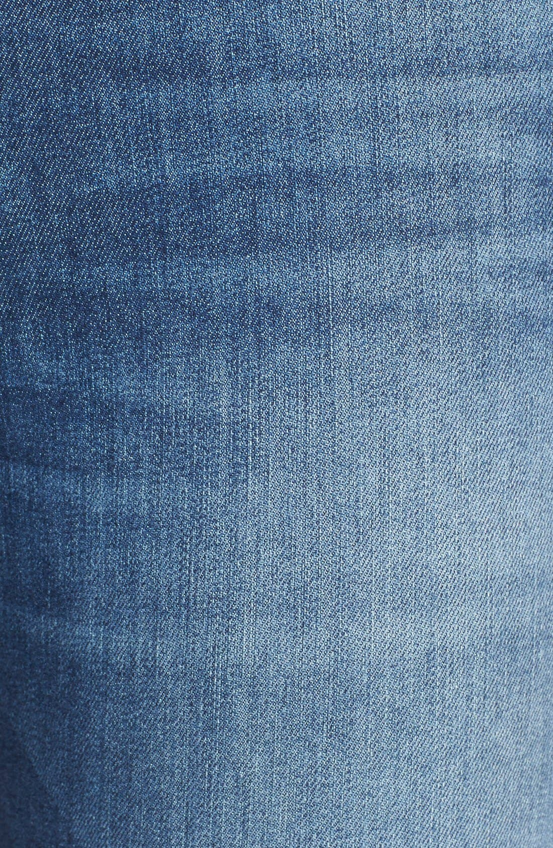Capri Crop Skinny Jeans,                             Alternate thumbnail 3, color,                             RAE