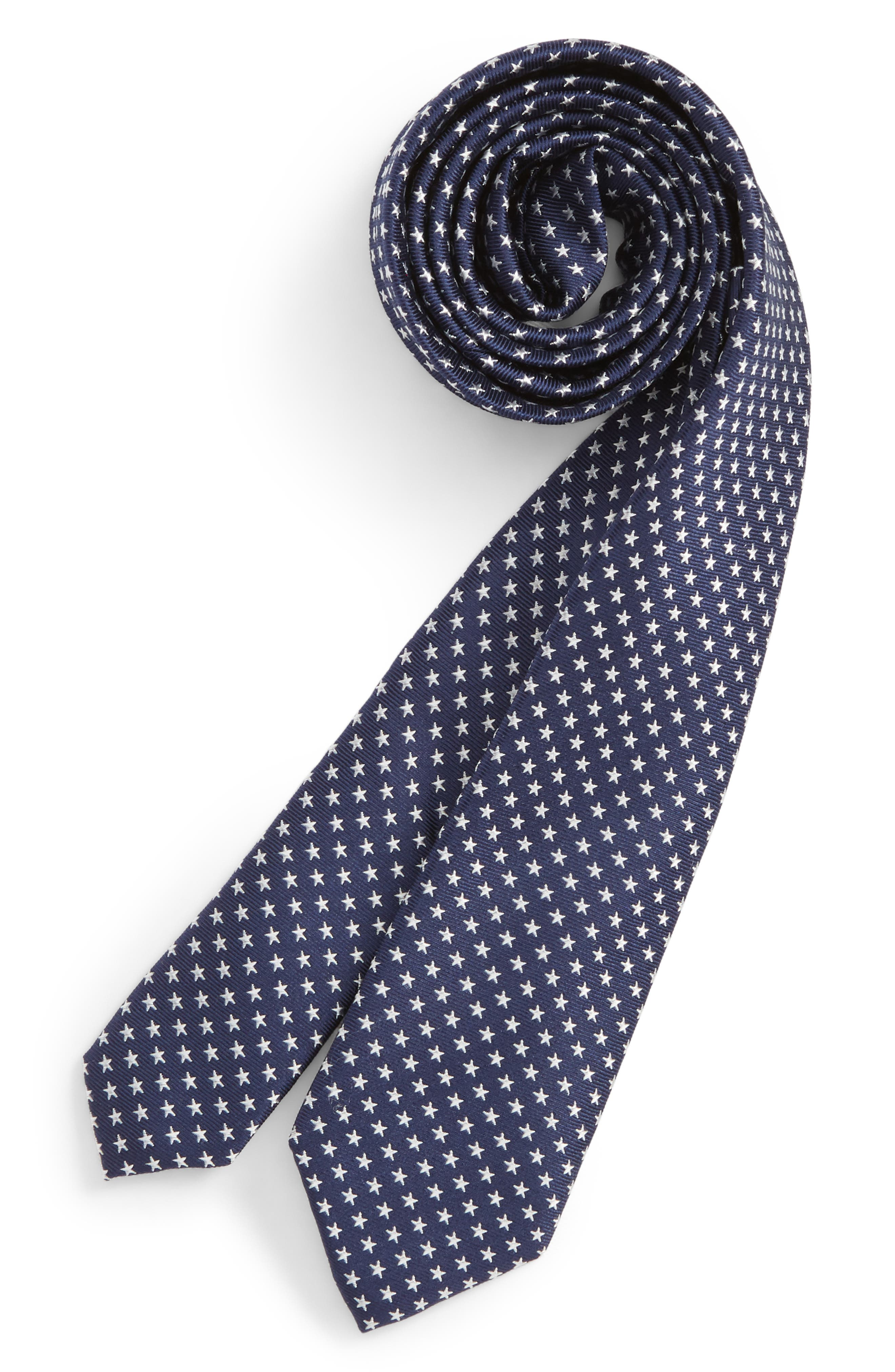 Stella Americana Silk Tie,                             Main thumbnail 1, color,