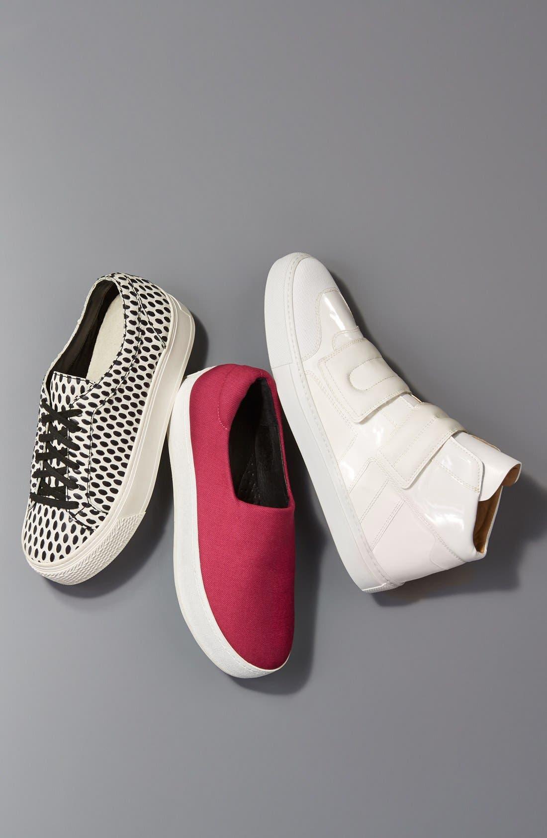 High Top Sneaker,                             Alternate thumbnail 5, color,                             001
