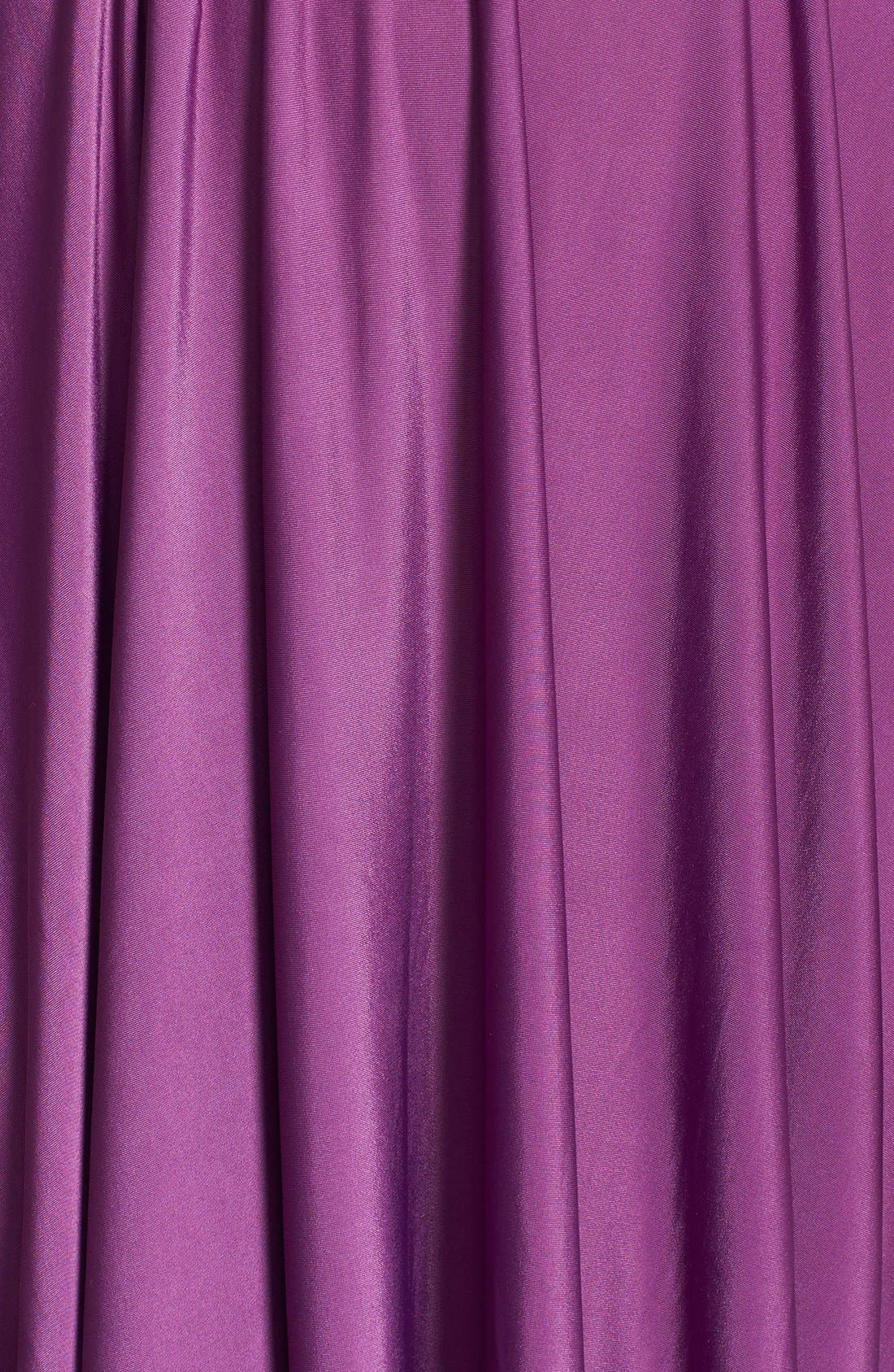 Convertible Wrap Tie Surplice Jersey Gown,                             Alternate thumbnail 44, color,